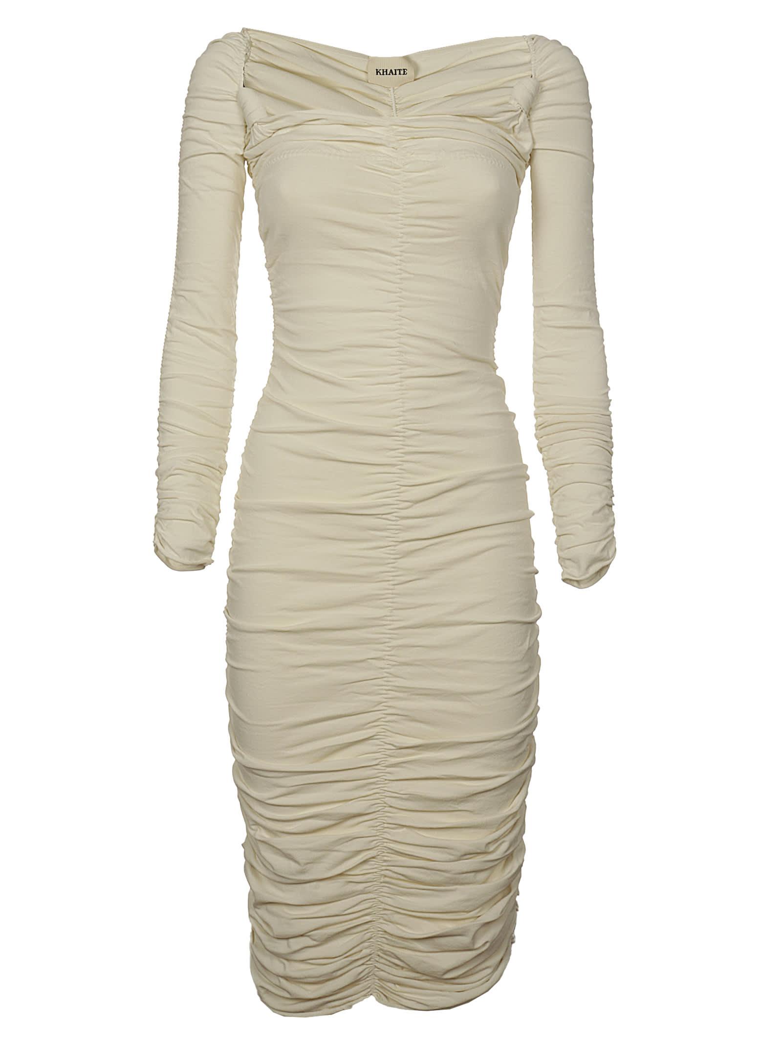 Buy Khaite Charmaine Dress online, shop Khaite with free shipping
