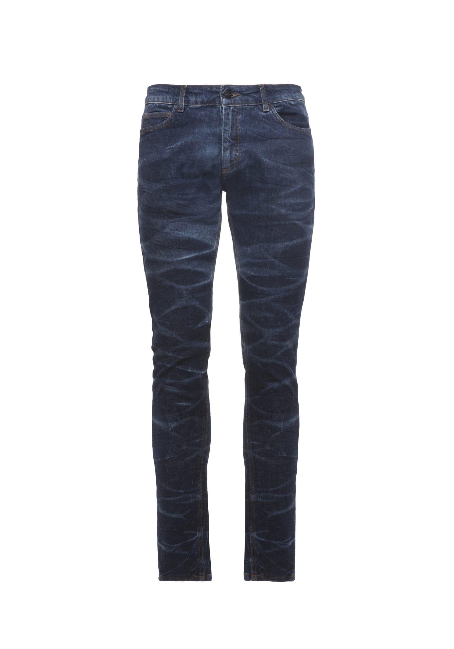 Jeans Denim Marble Blue