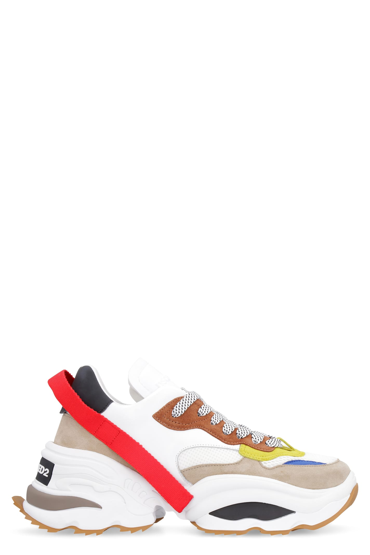 Dsquared2 The Giant Leather Sneakers