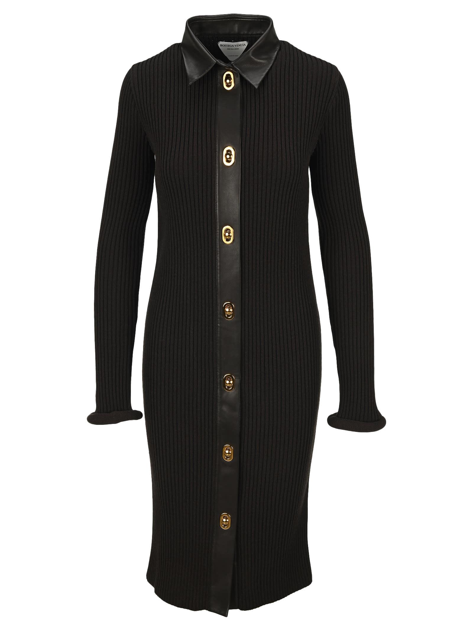 Buy Bottega Veneta Knitted Dress online, shop Bottega Veneta with free shipping