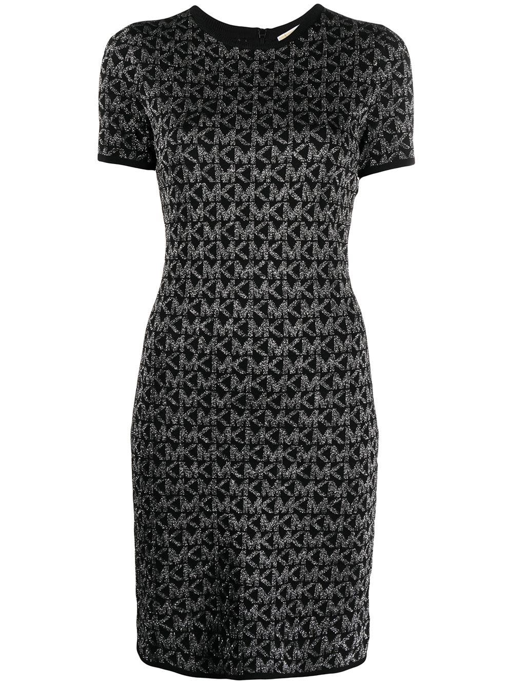 Michael Michael Kors DRESS WITH MK LUREX LOGO