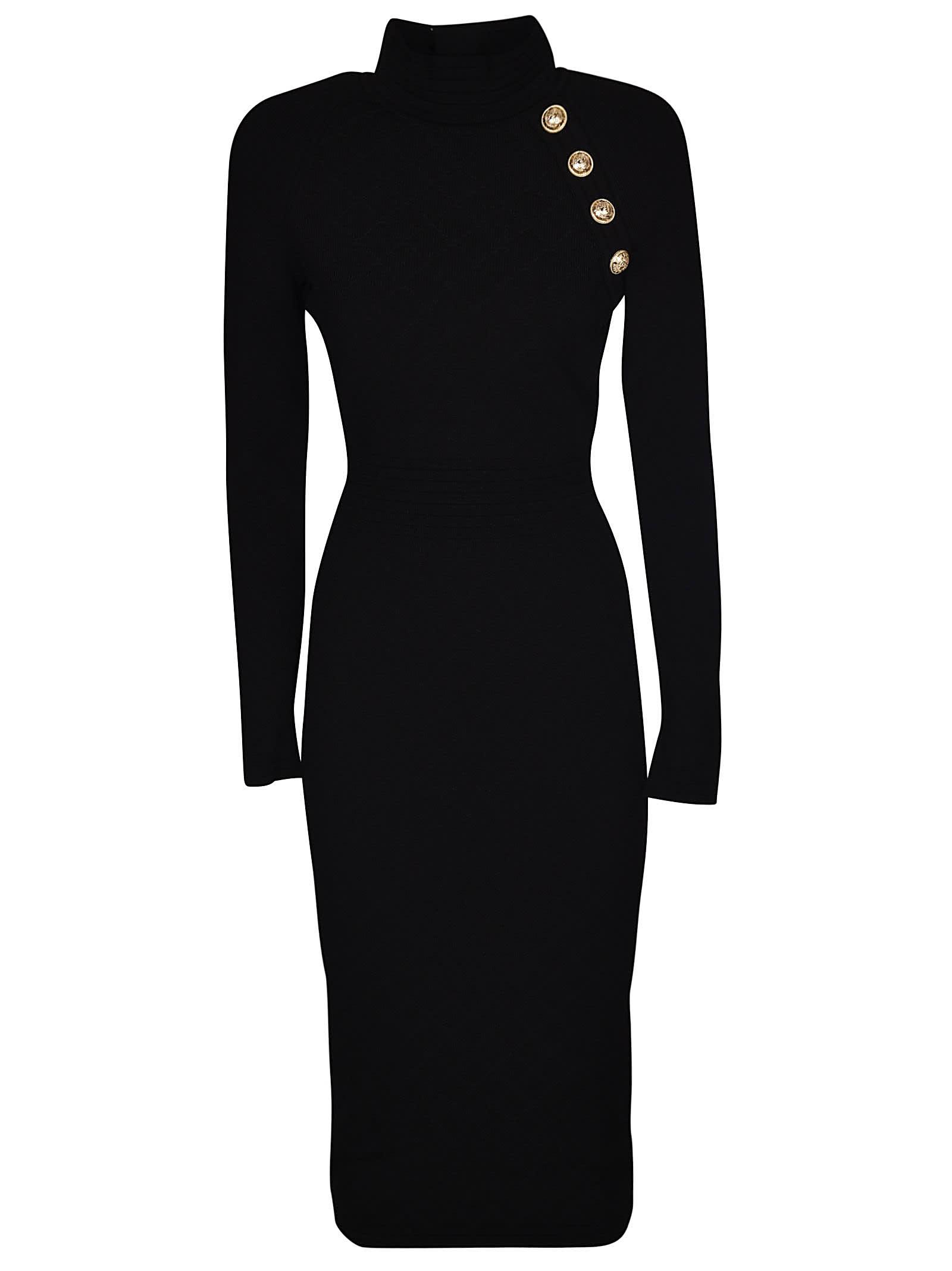 Balmain Long Sleeved Dress