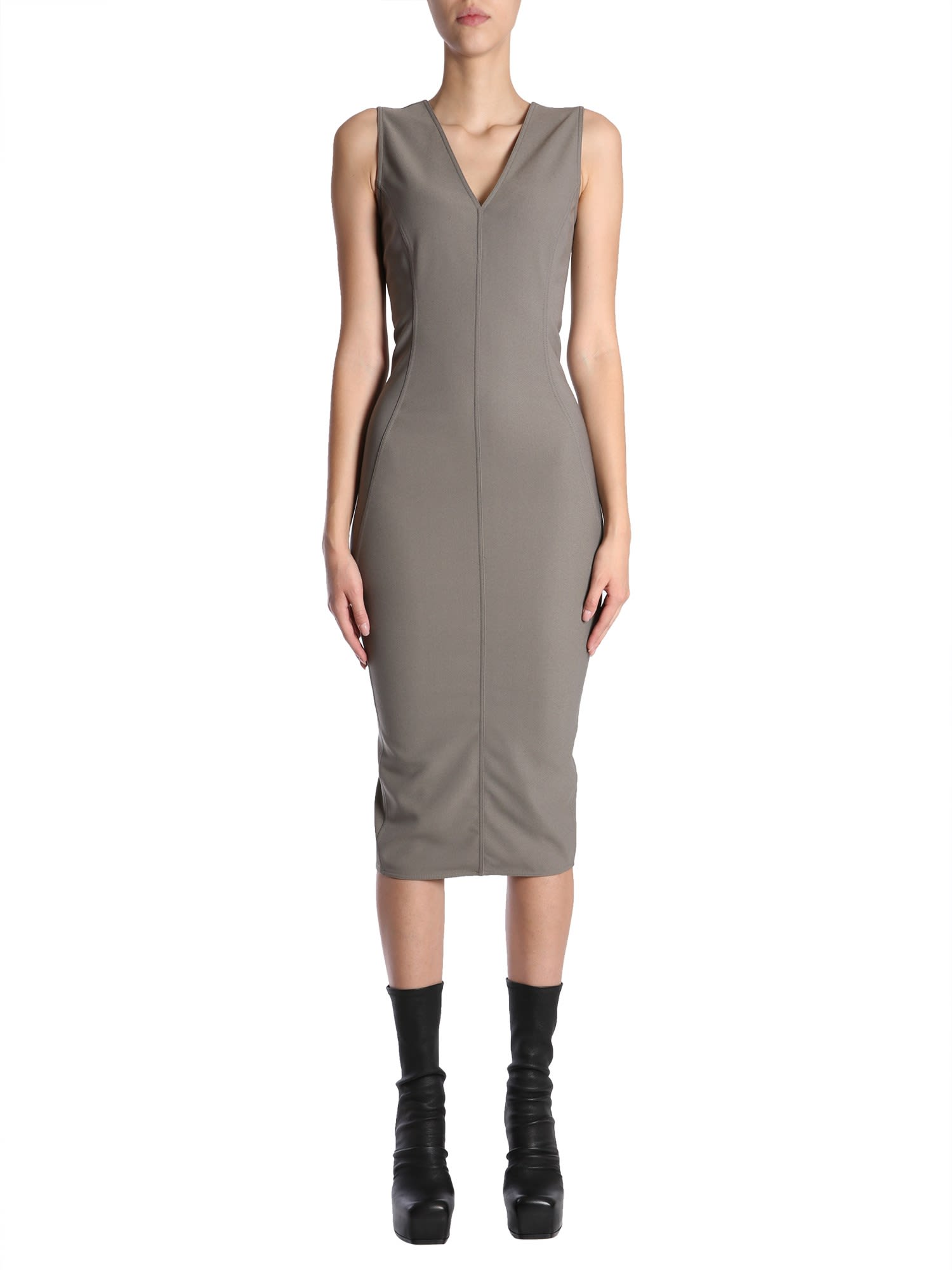 Buy Rick Owens Sleeveless Dress online, shop Rick Owens with free shipping