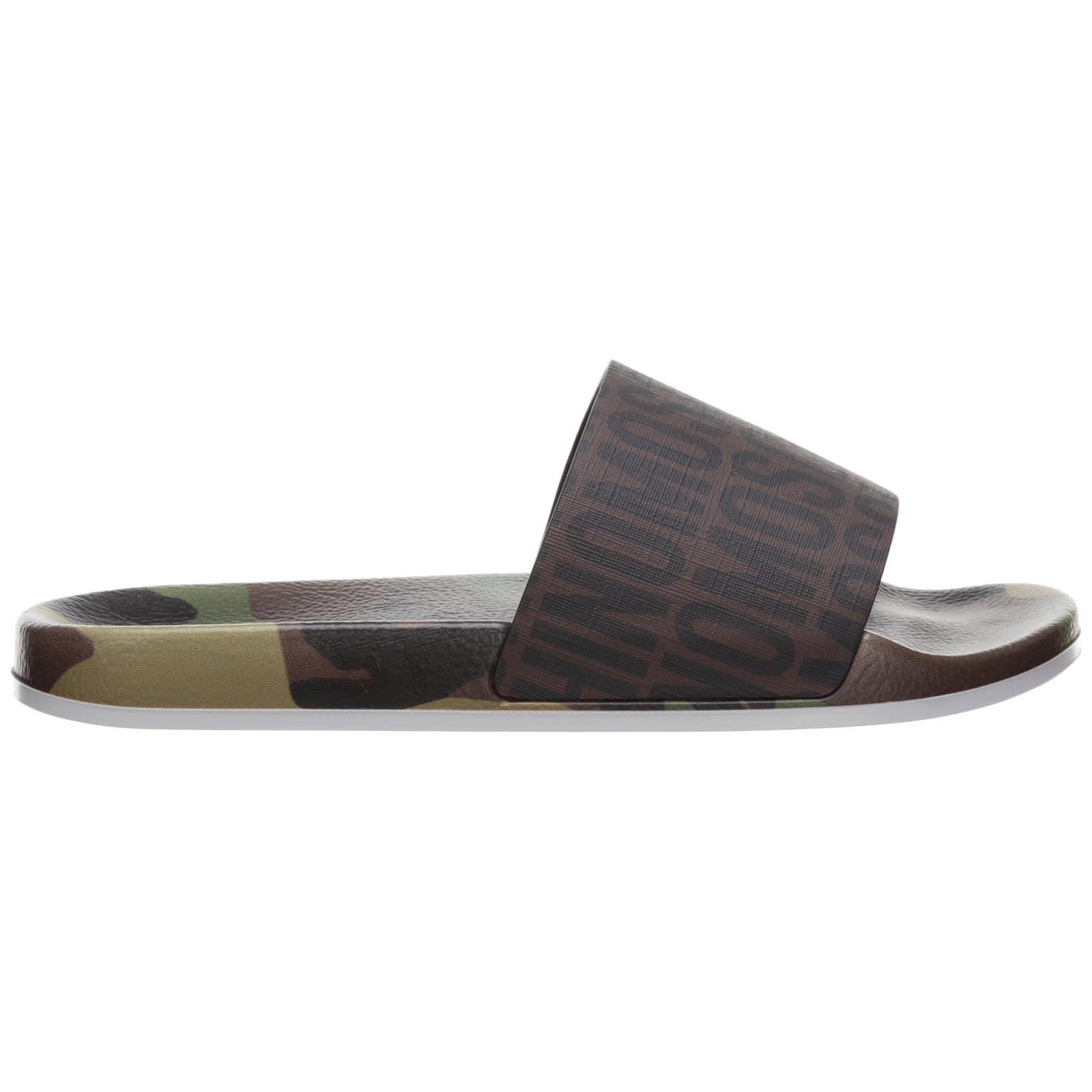 Moschino Sandals TEDDY SLIDES