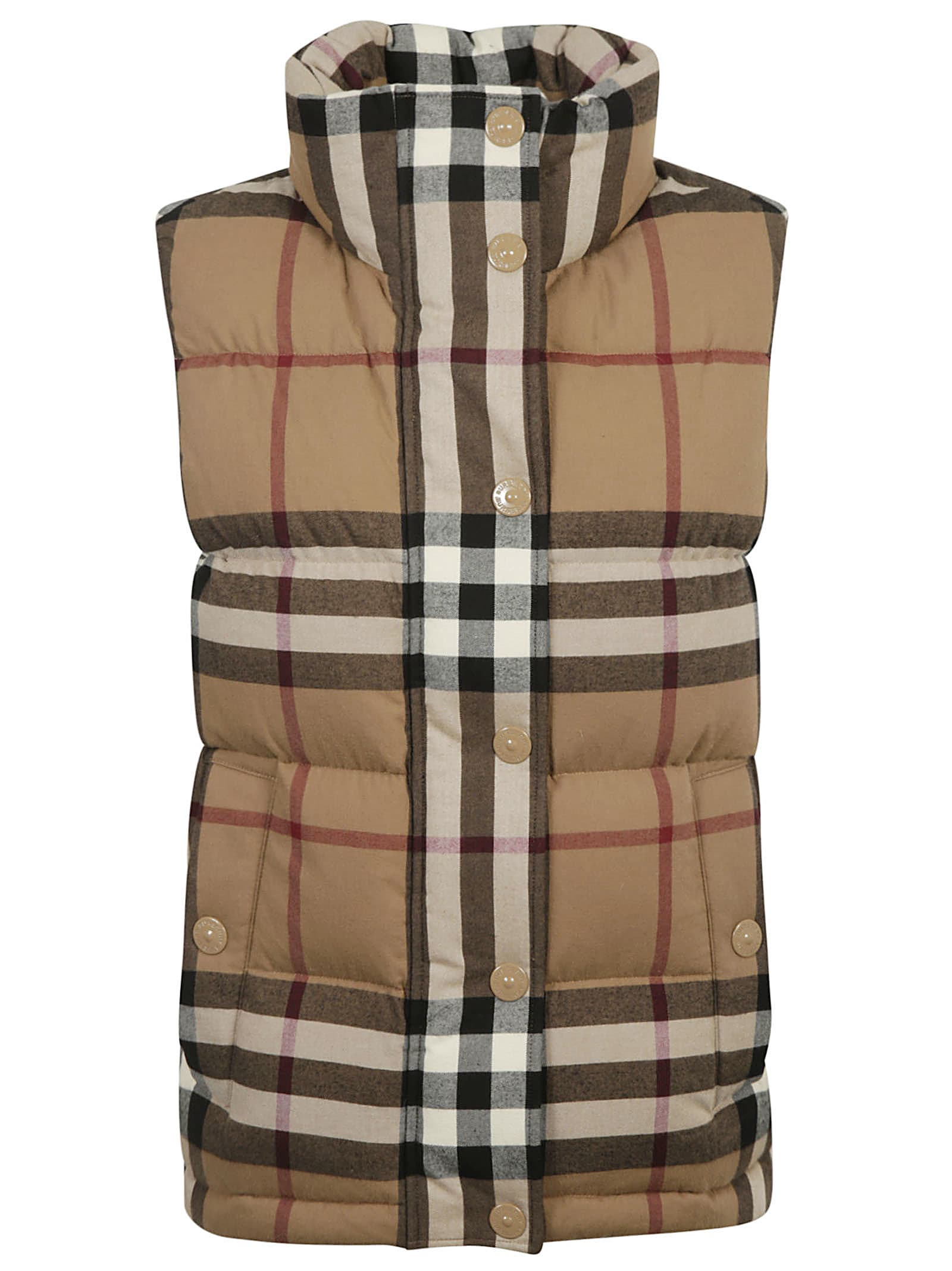 Burberry Checked Padded Gilet