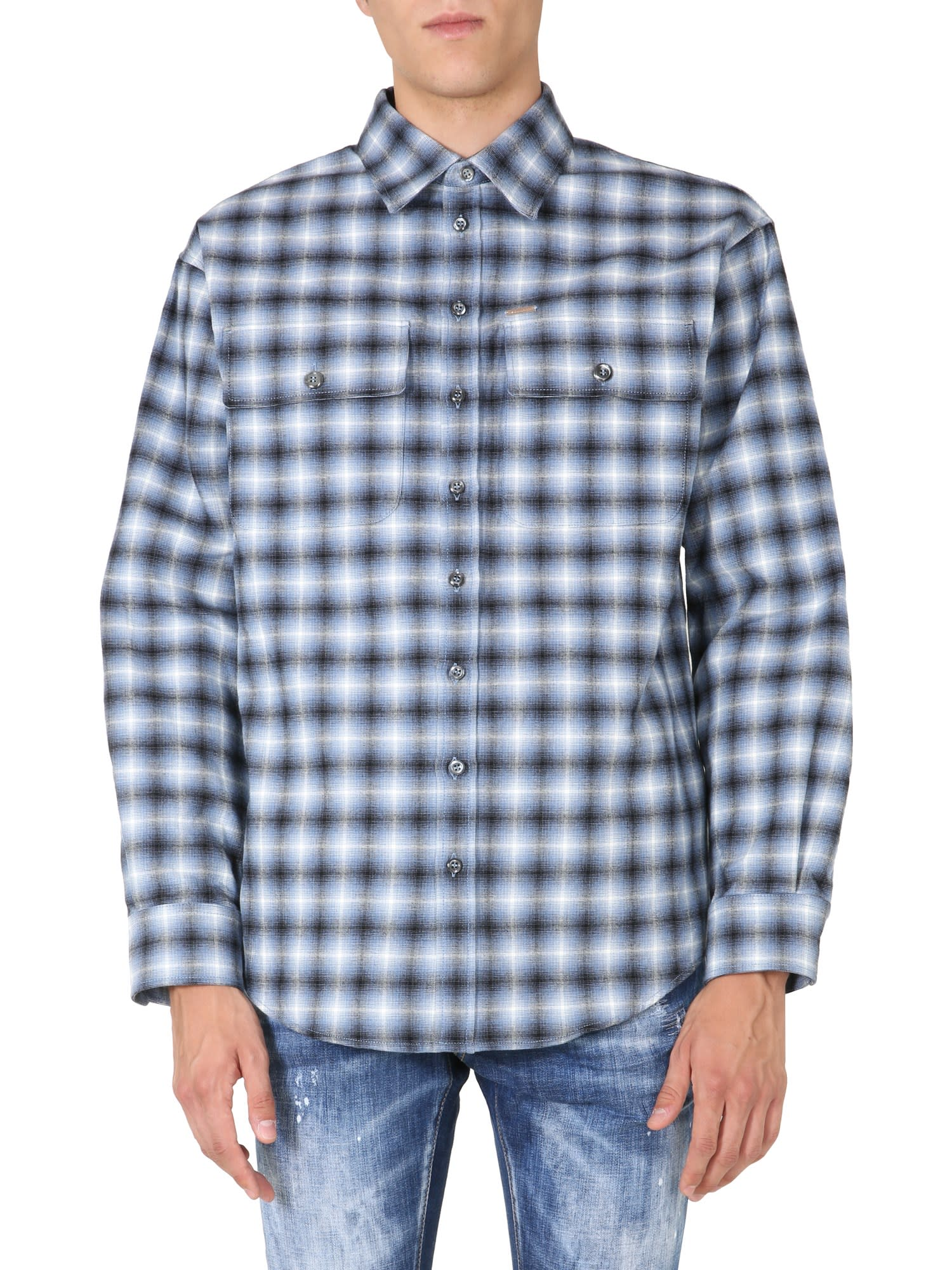 Dsquared2 Oversize Fit Shirt