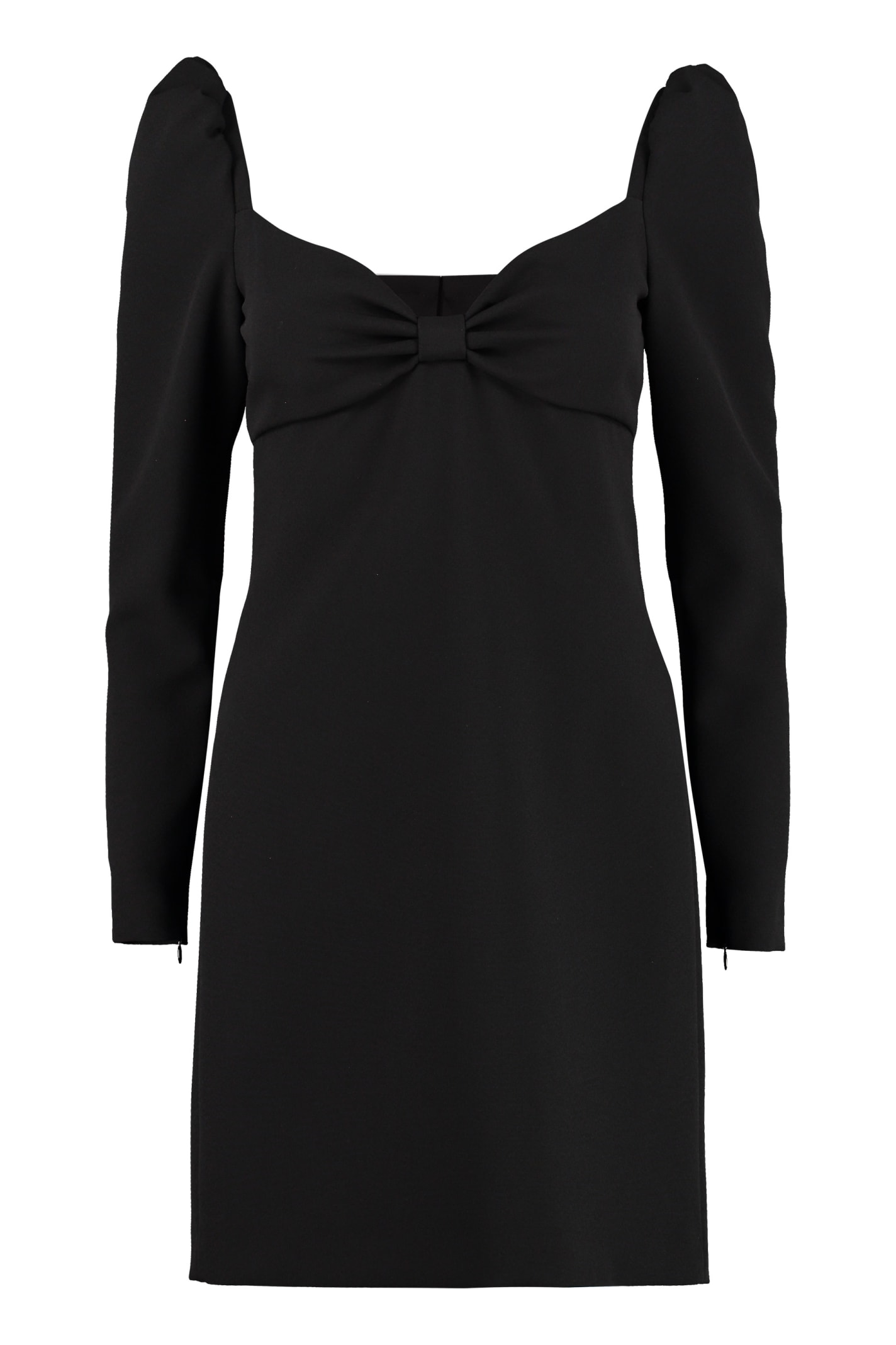 Buy RED Valentino Bow Detail Mini Dress online, shop RED Valentino with free shipping