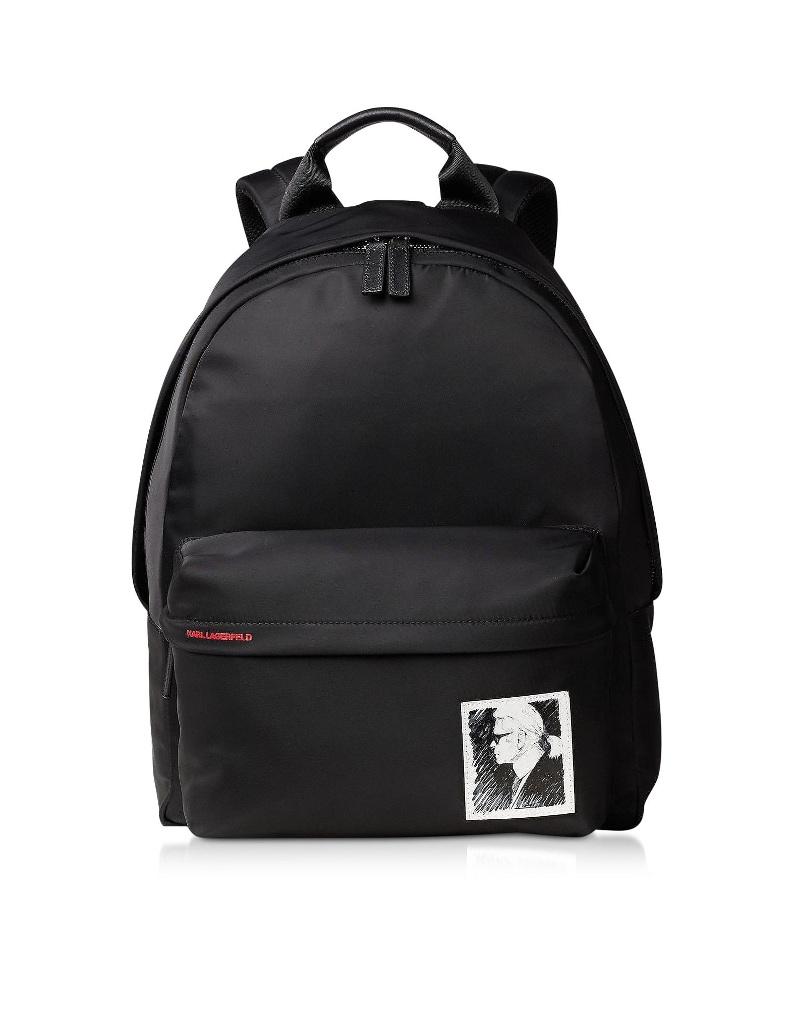 Karl Lagerfeld Backpacks KARL LEGEND NYLON BACKPACK