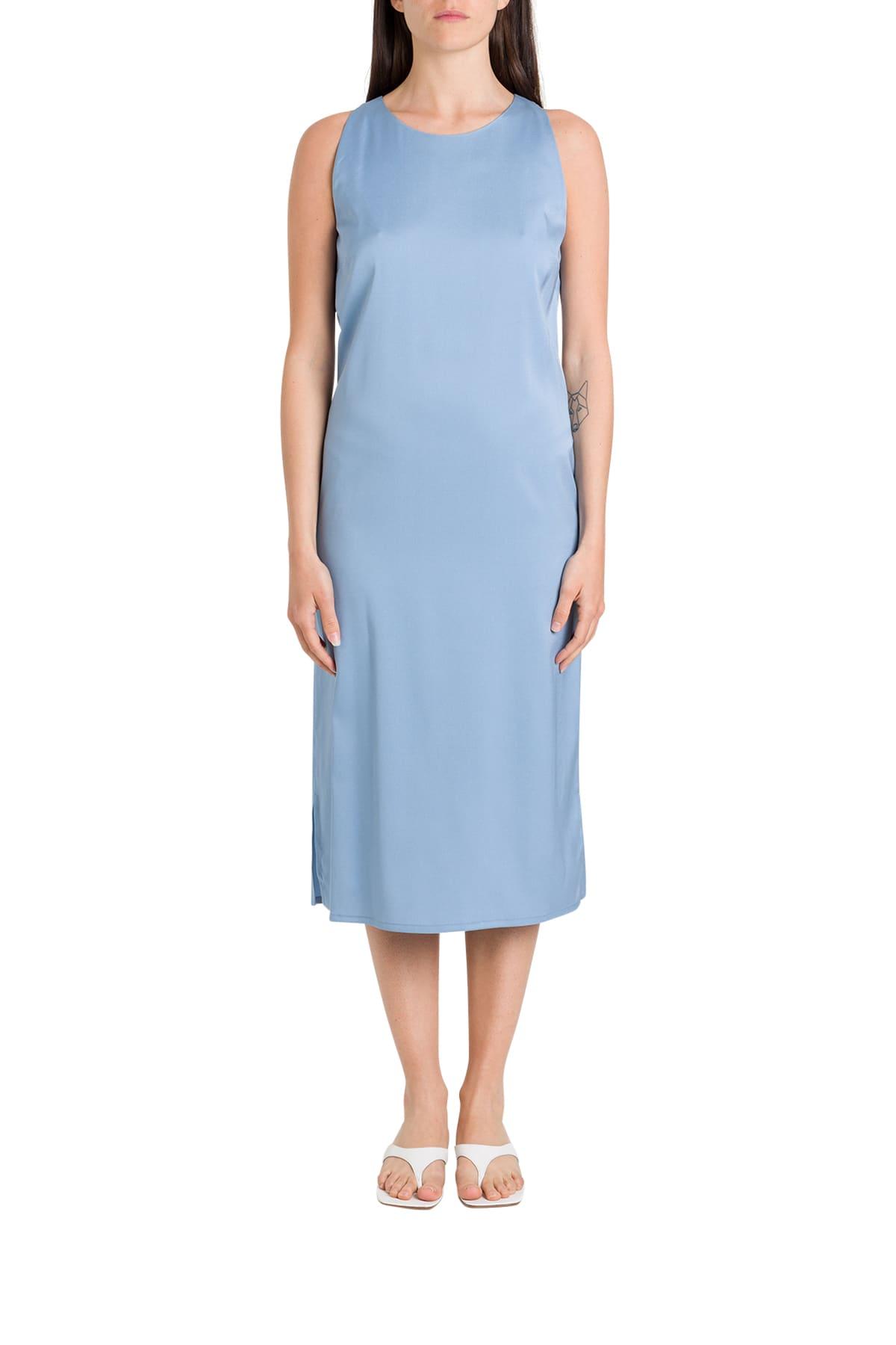 Buy Tonello Satin Sheath Dress online, shop Tonello with free shipping