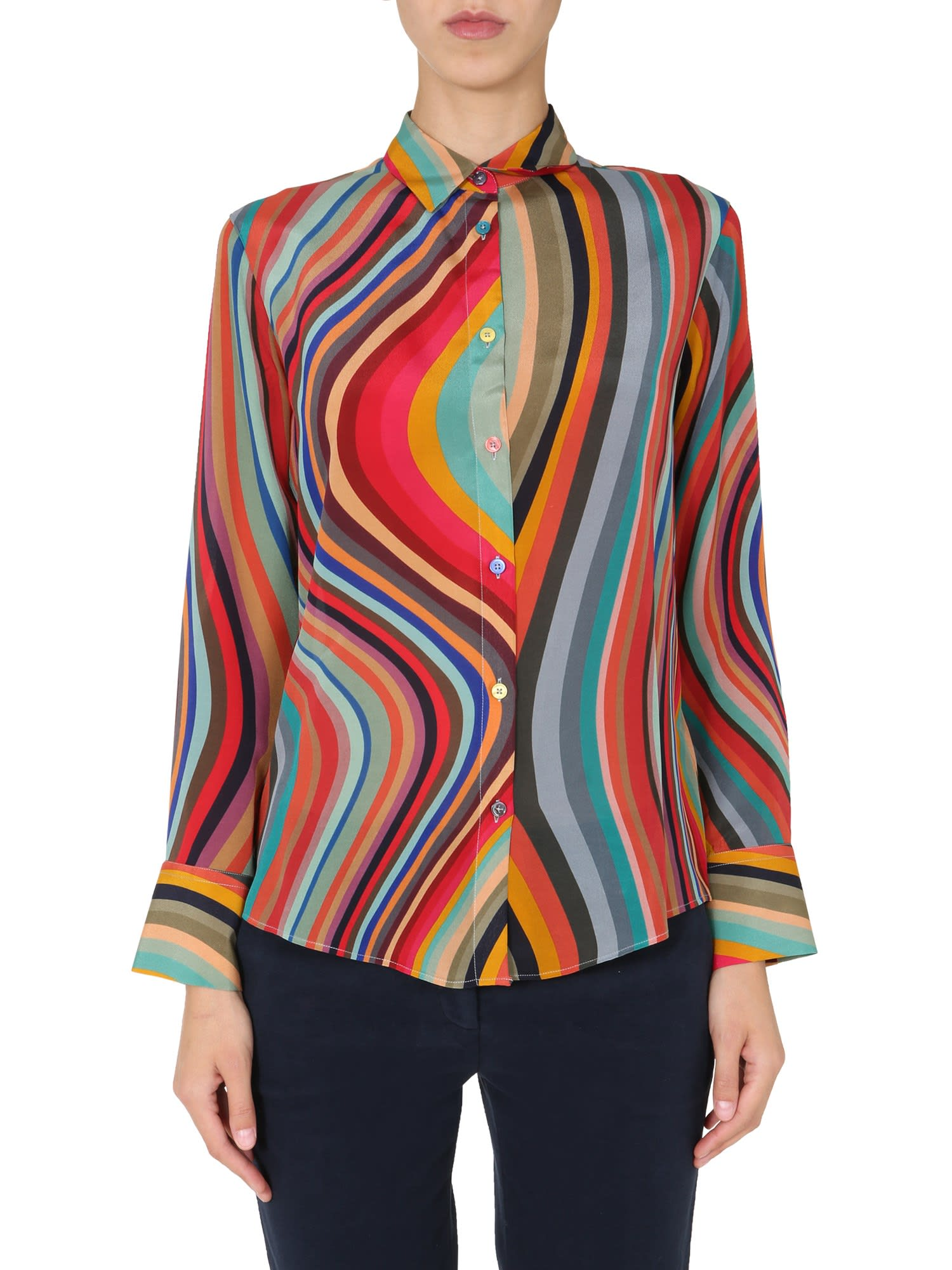 Ps By Paul Smith STRIPED SHIRT