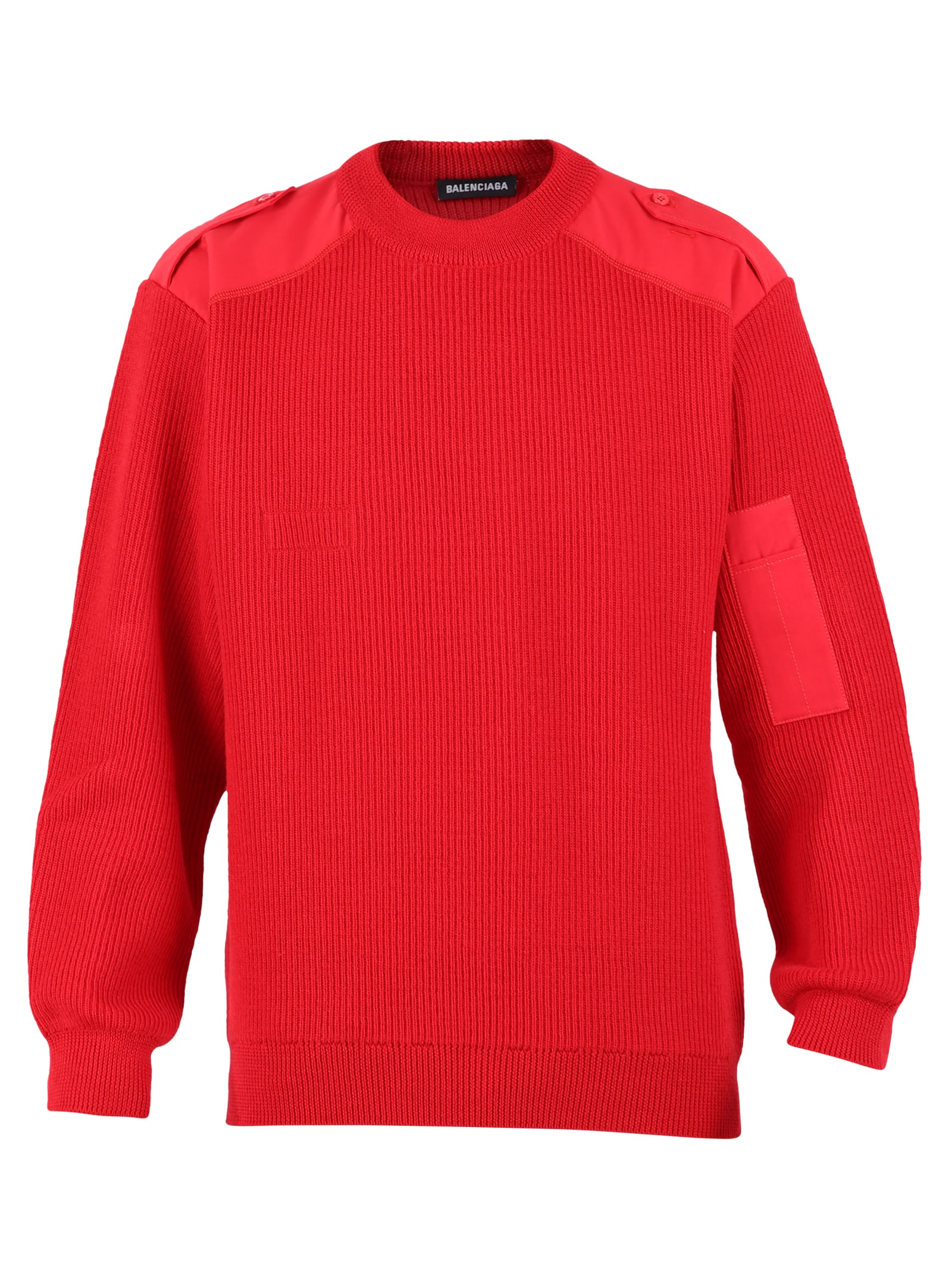 Balenciaga Branded Sweater