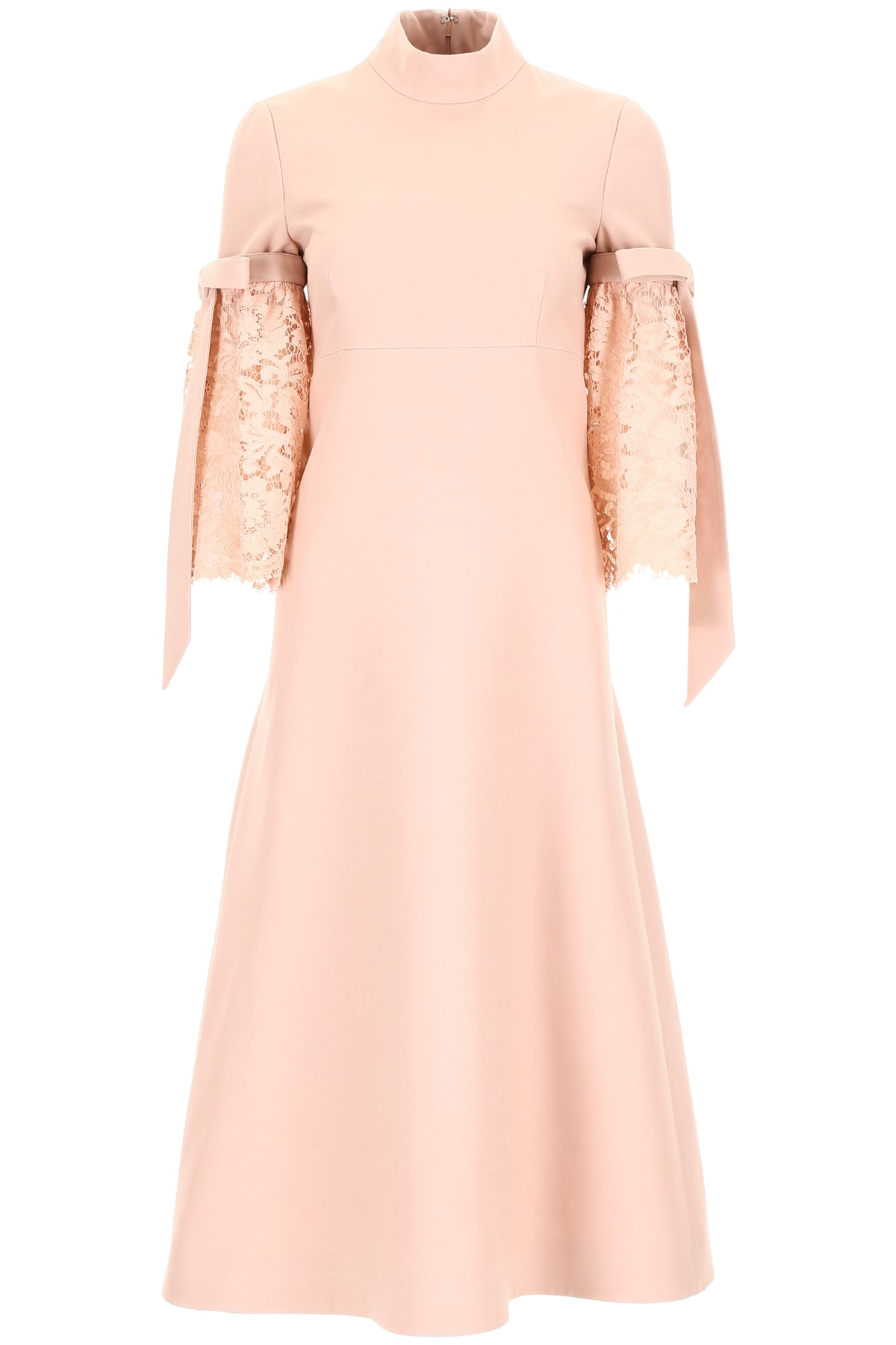Valentino Midi Dress With Lace