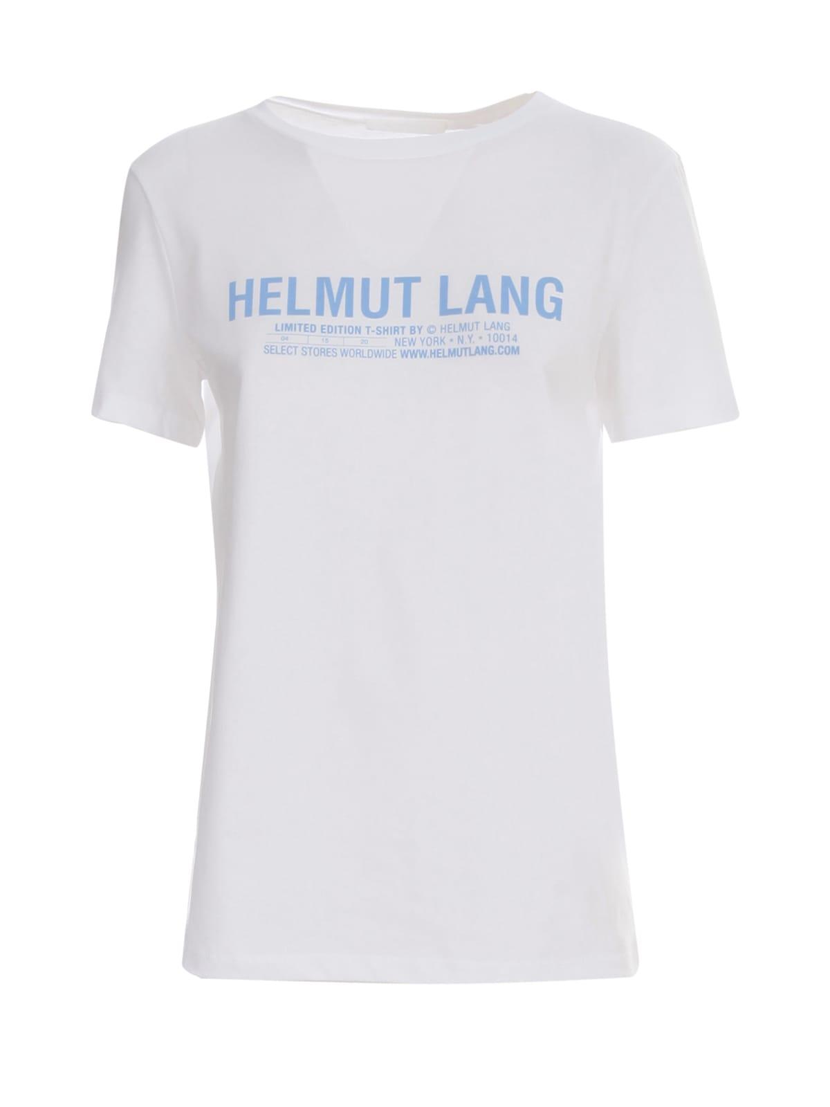 Helmut Lang WRITTEN LOGO T-SHIRT