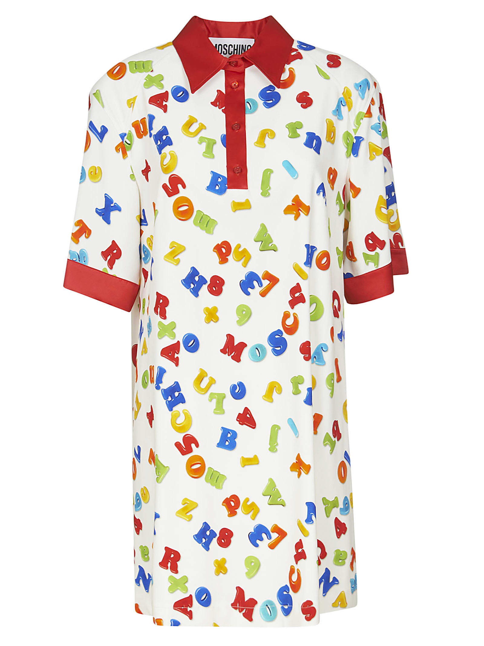 Buy Moschino All-over Printed Dress online, shop Moschino with free shipping