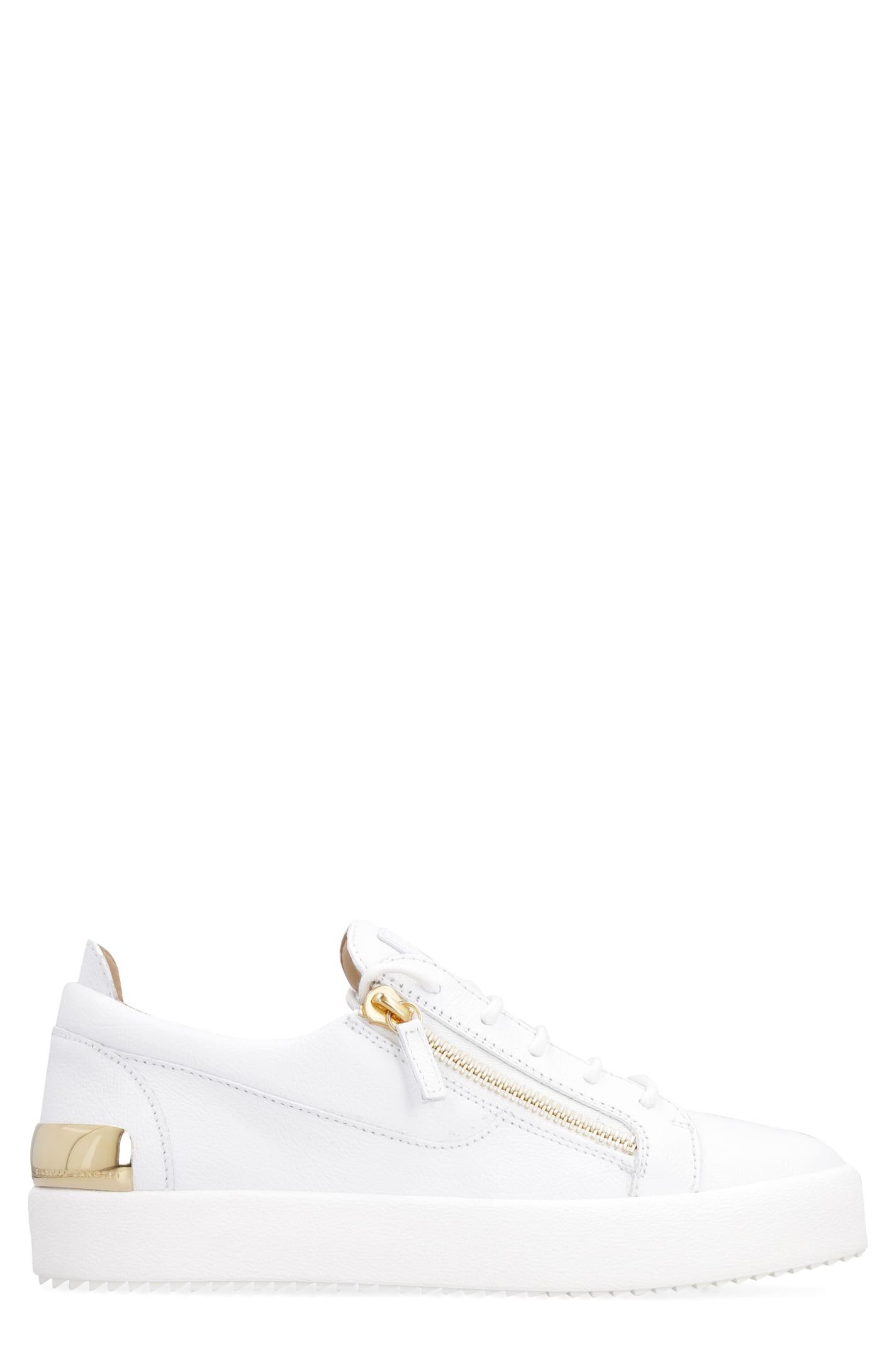 Giuseppe Zanotti Frankie Leather Low-top Sneakers