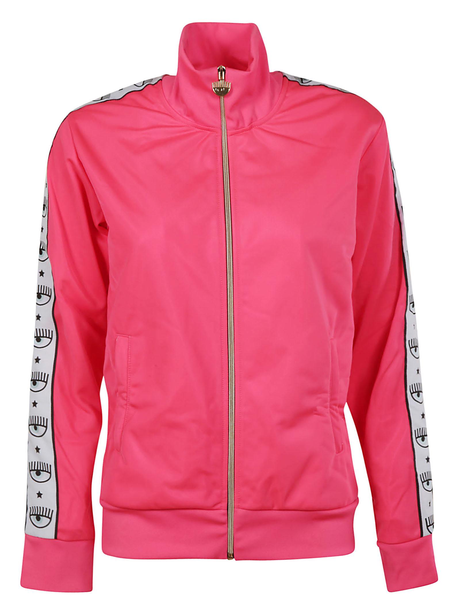 Chiara Ferragni 80s Eye Print Jacket