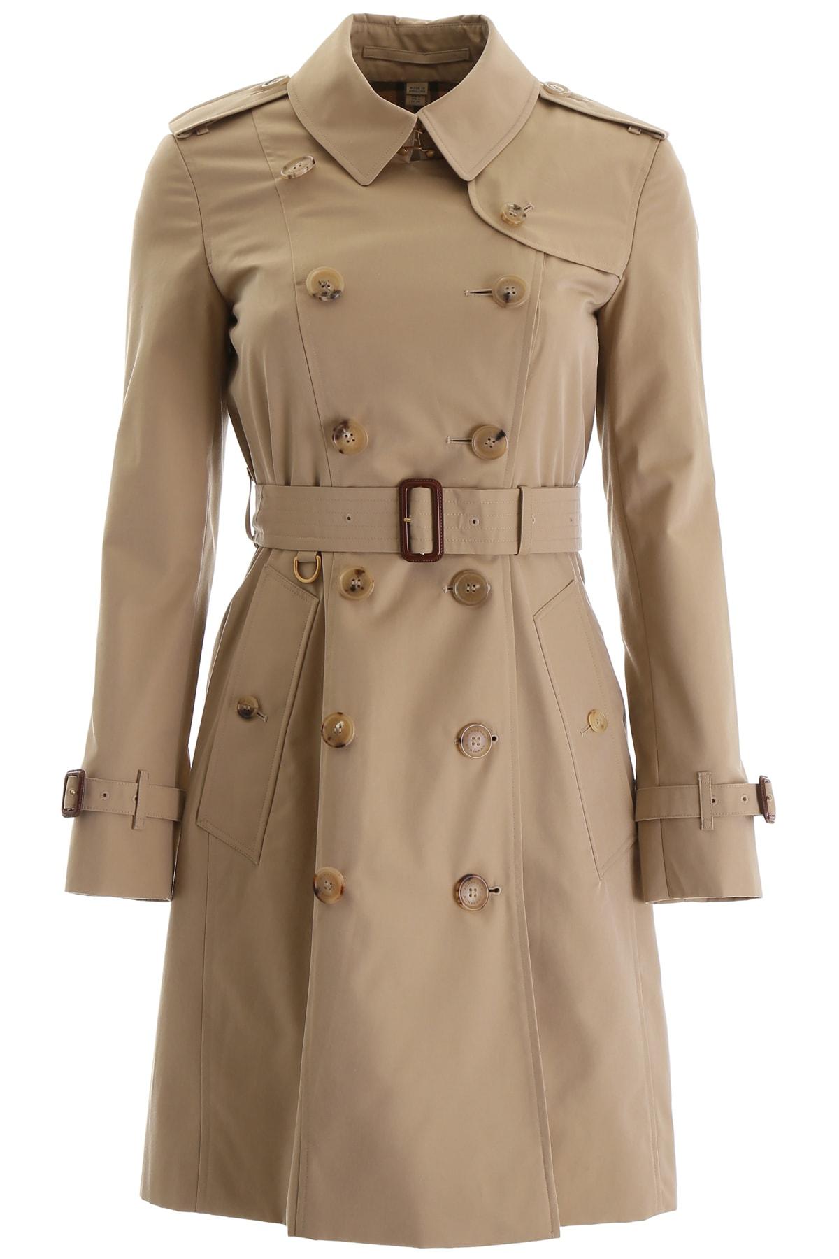 Burberry Chelsea Midi Raincoat