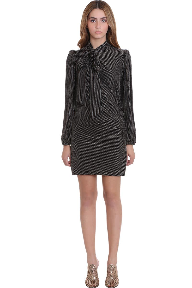 Buy Marc Jacobs Dress In Gold Nylon online, shop Marc Jacobs with free shipping