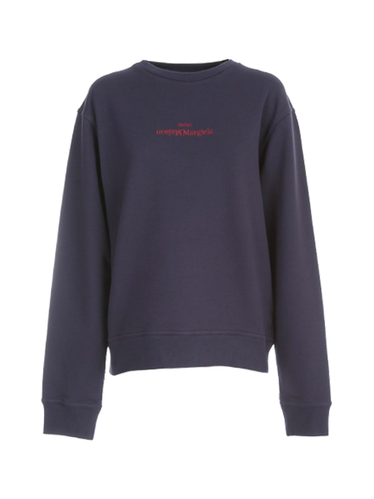 Maison Margiela Compact Round Neck Sweatshirt