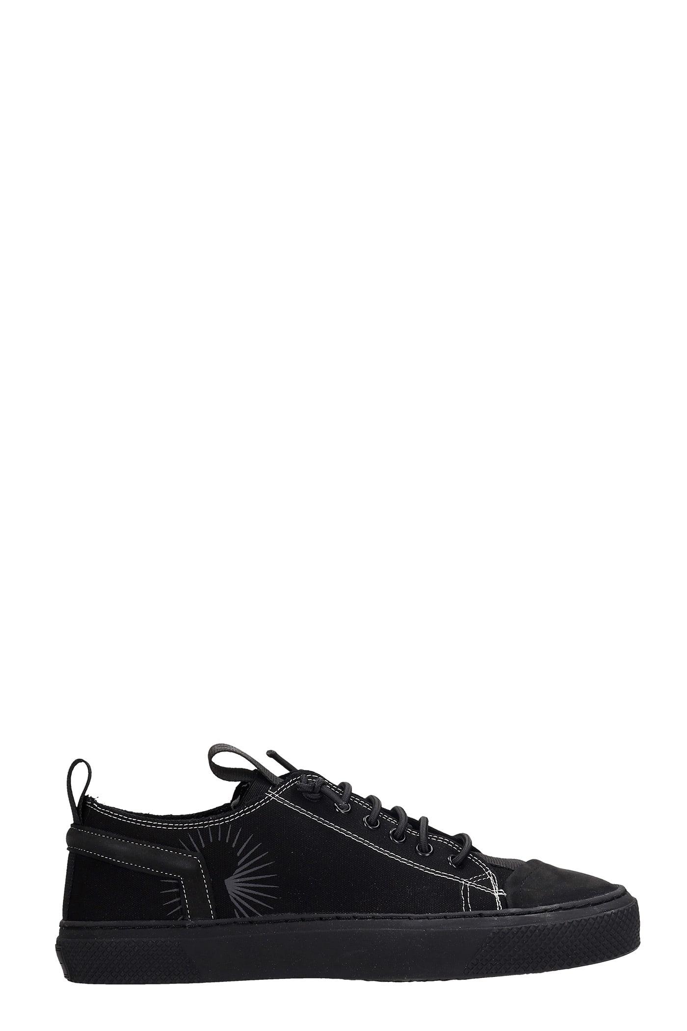 Cecca Sneakers In Black Canvas