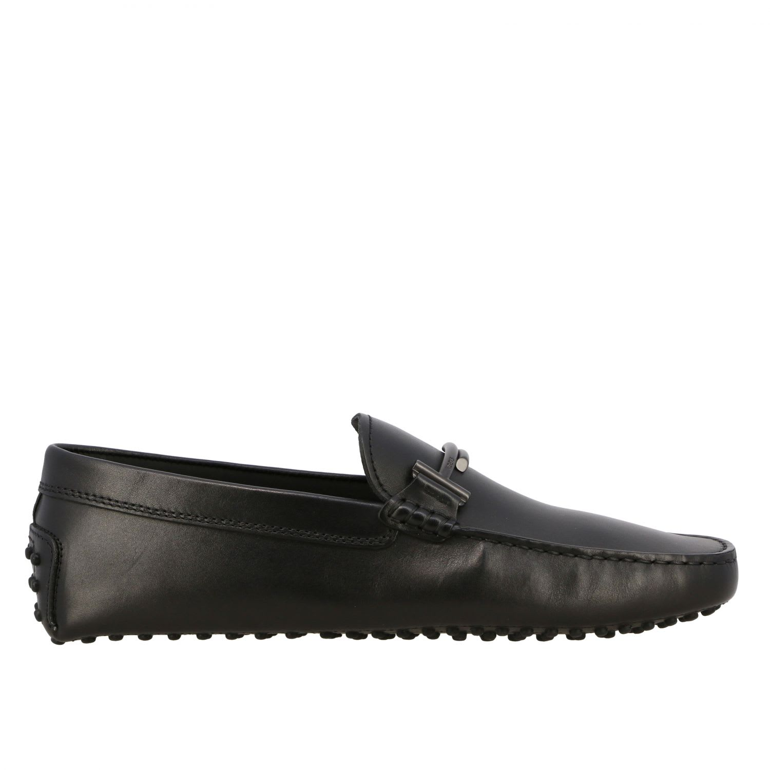 Loafers Tods Gommini Loafers In Leather With Double TComposition: 100% Calfskin