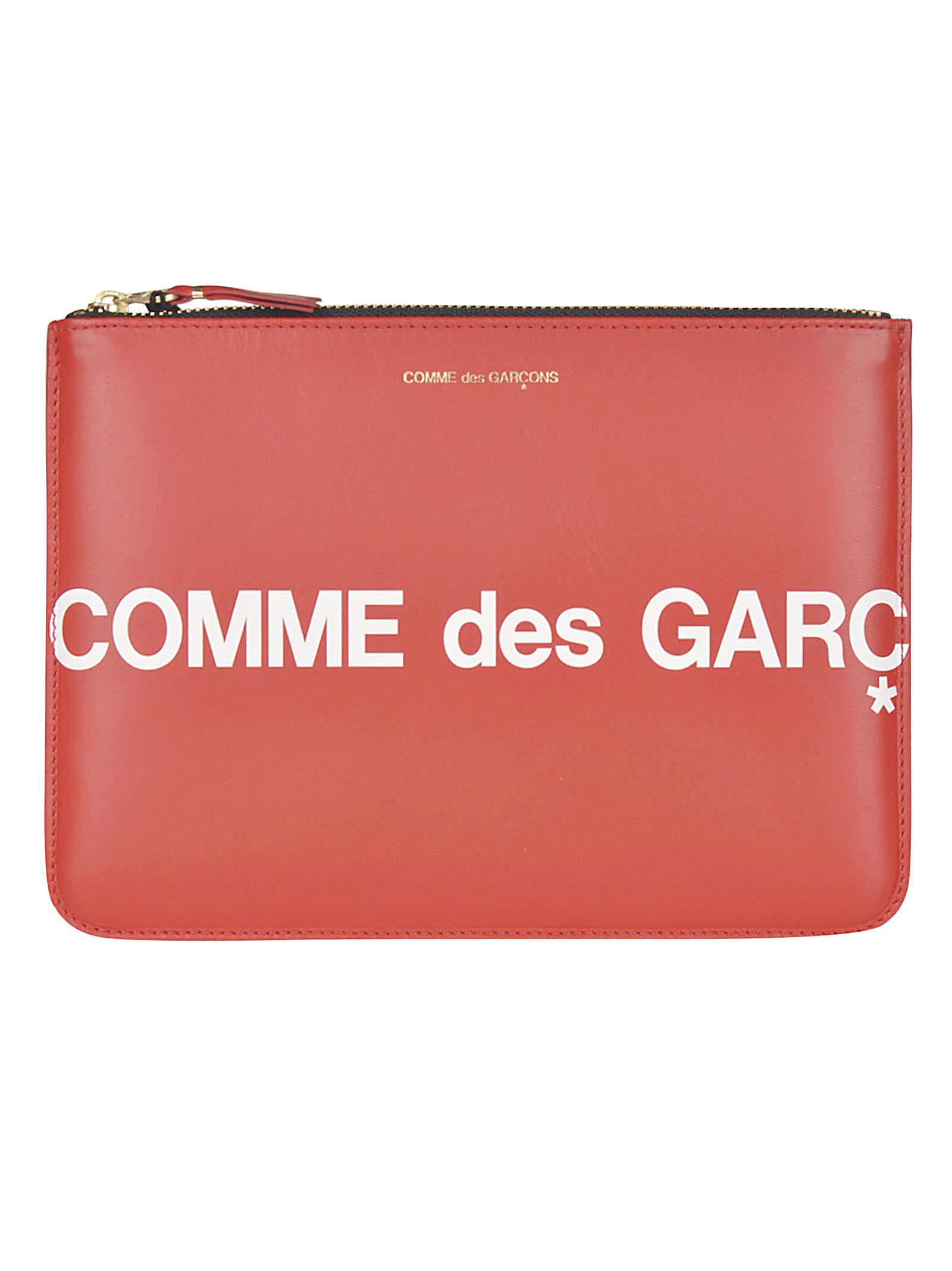 Comme des Garçons Wallet Huge Logo Wallet