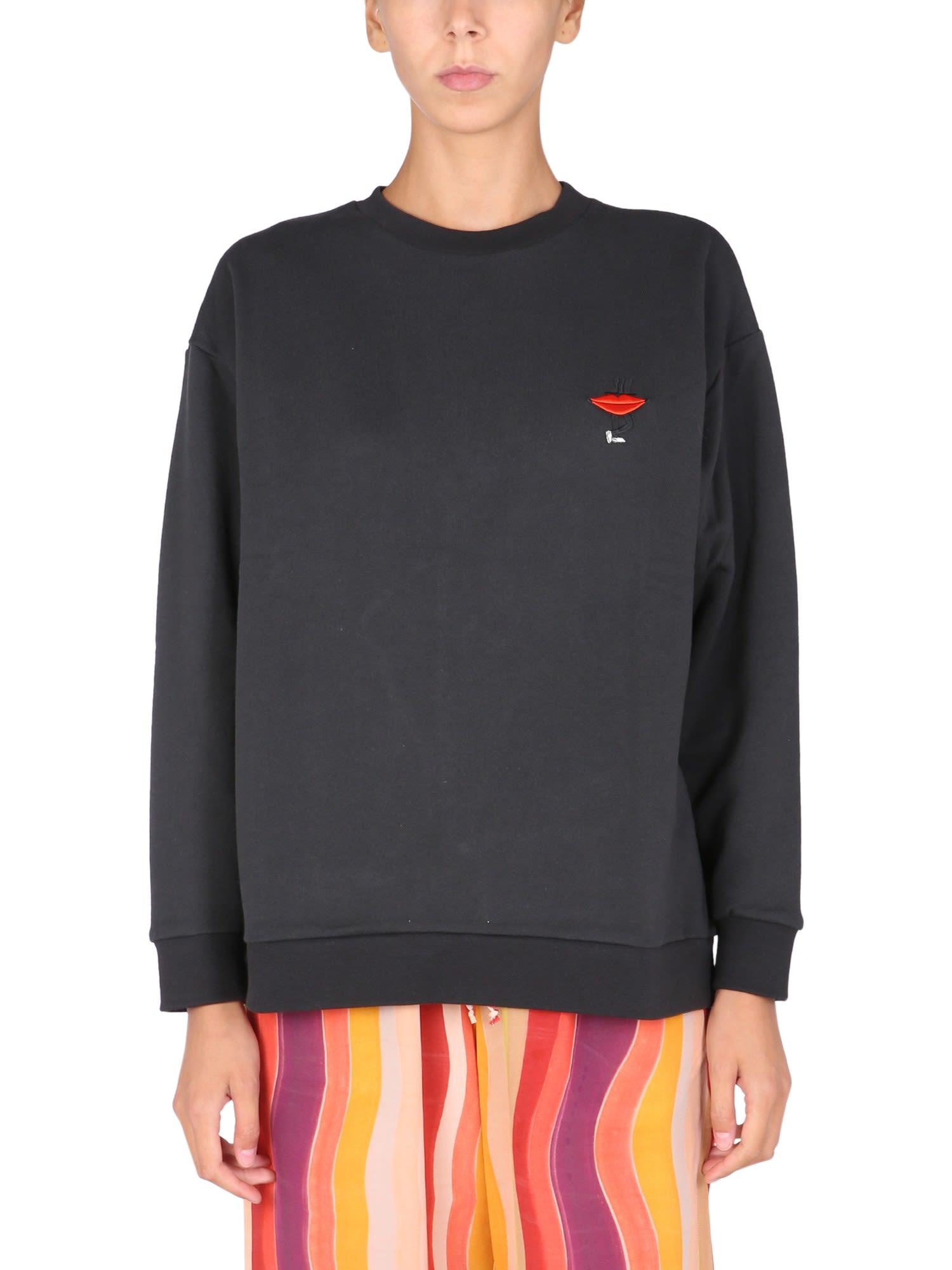 Lips Leg Sweatshirt