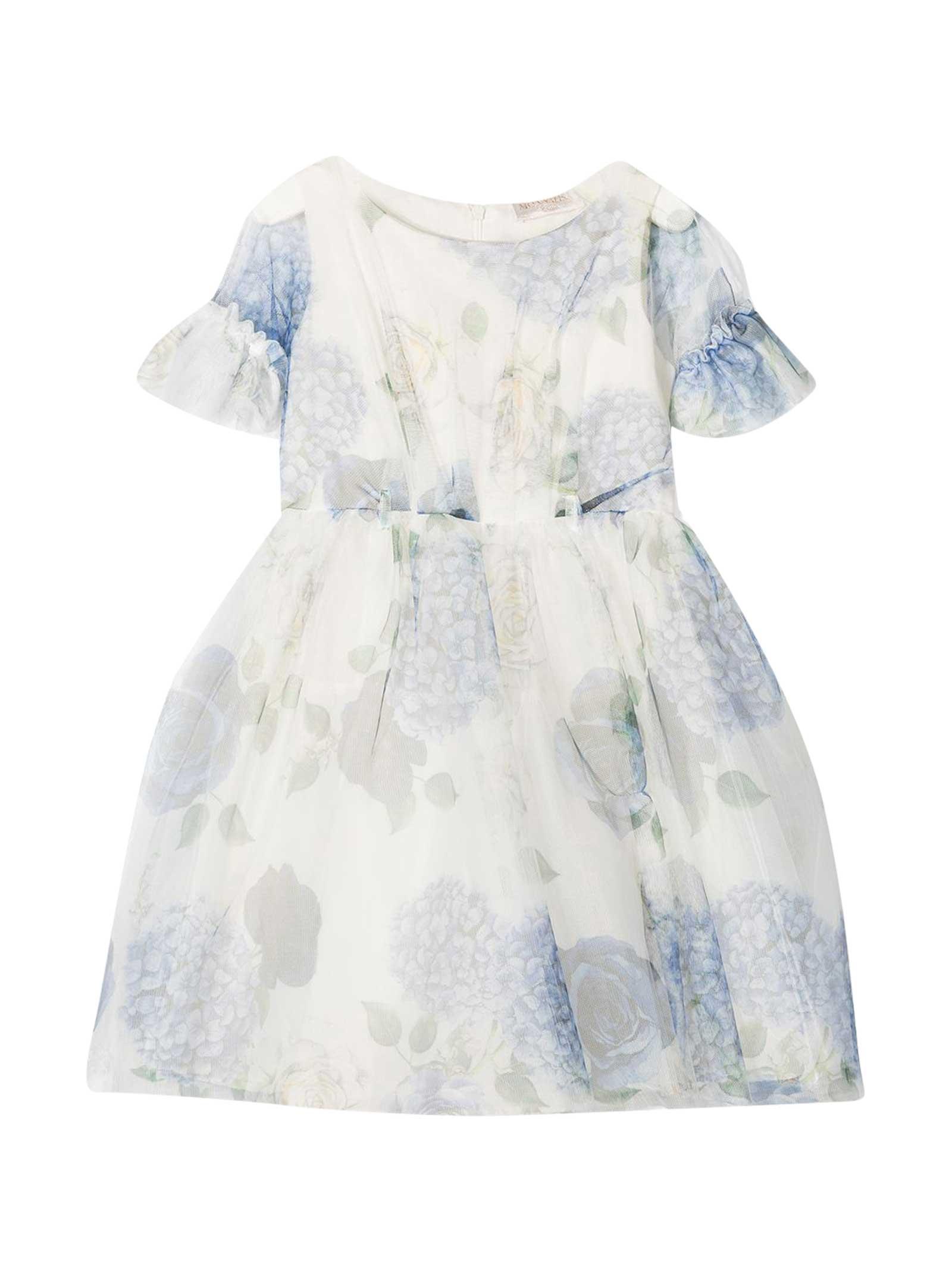 Monnalisa Monnalisa Floral Dress