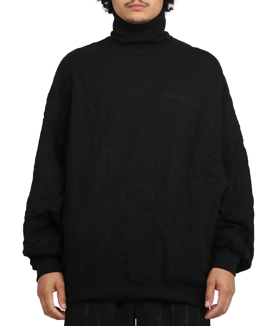 BALENCIAGA BLACK TURTLENECK