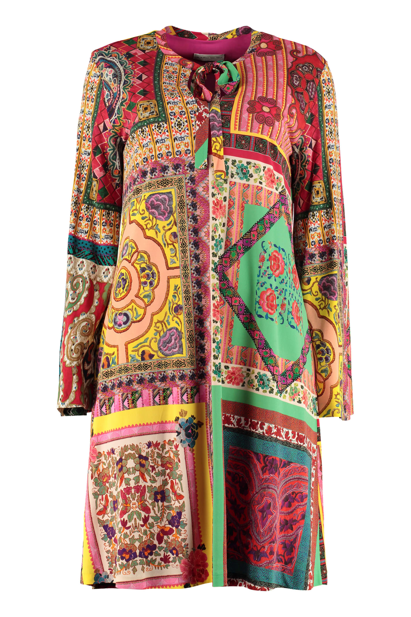 Buy Etro Jersey Mini Dress online, shop Etro with free shipping