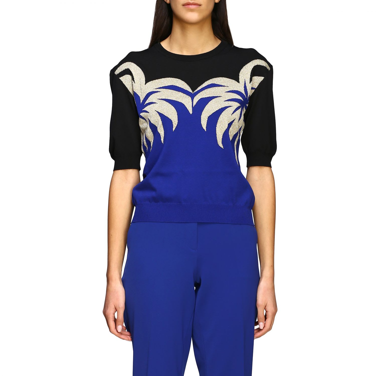 Boutique Moschino Sweater Boutique Moschino Top With Palm Trees