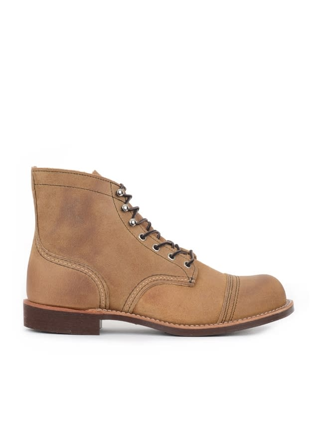 Red Wing Boot Suede Iron Ranger Hawthorne Muleskinner