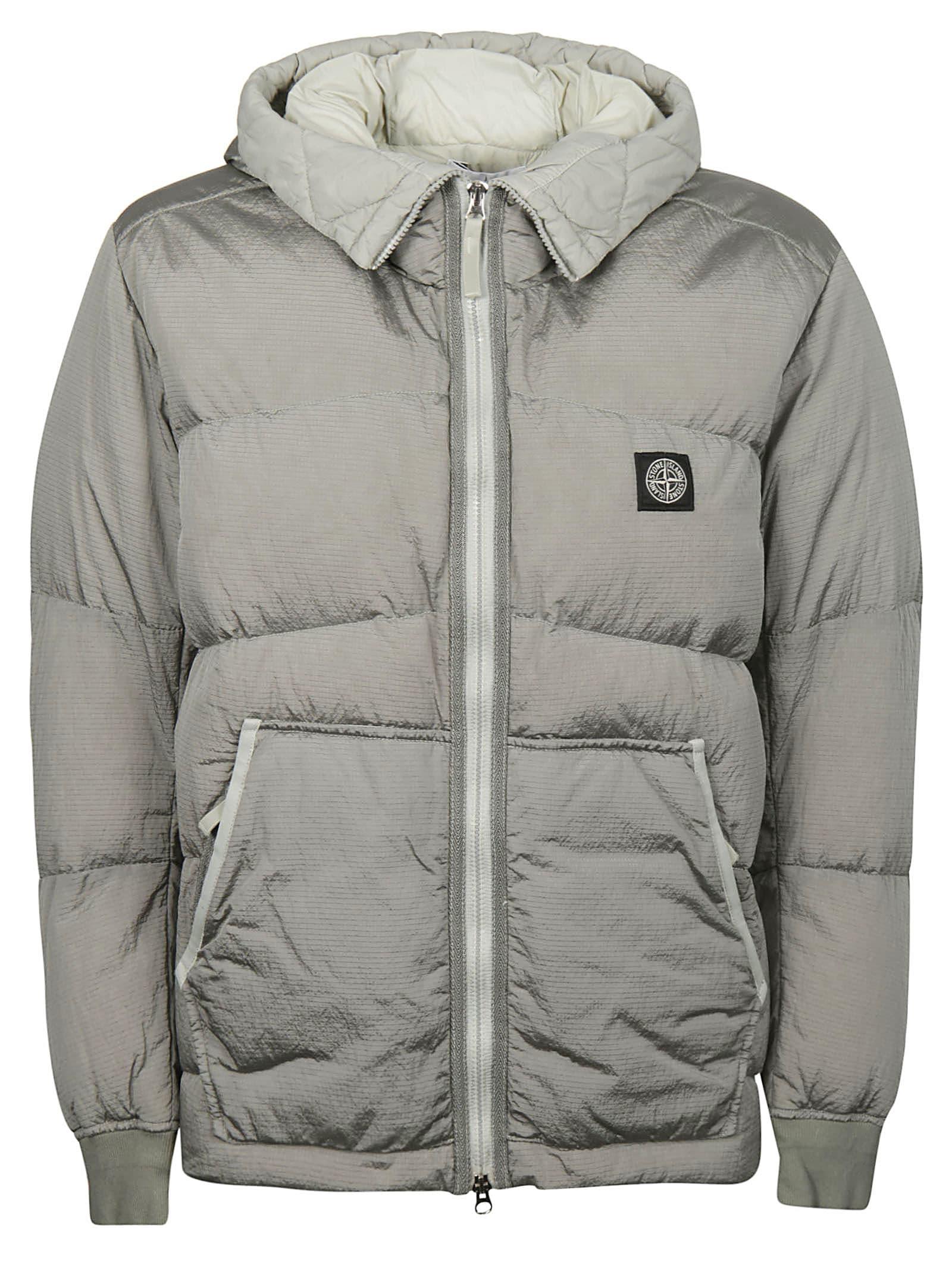 premium selection c3883 3fe8b Best price on the market at italist   Stone Island Stone Island Zipped  Padded Jacket