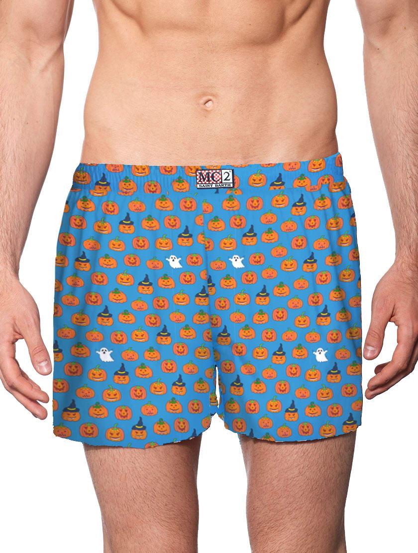 Man Underwear Boxer Halloween Print