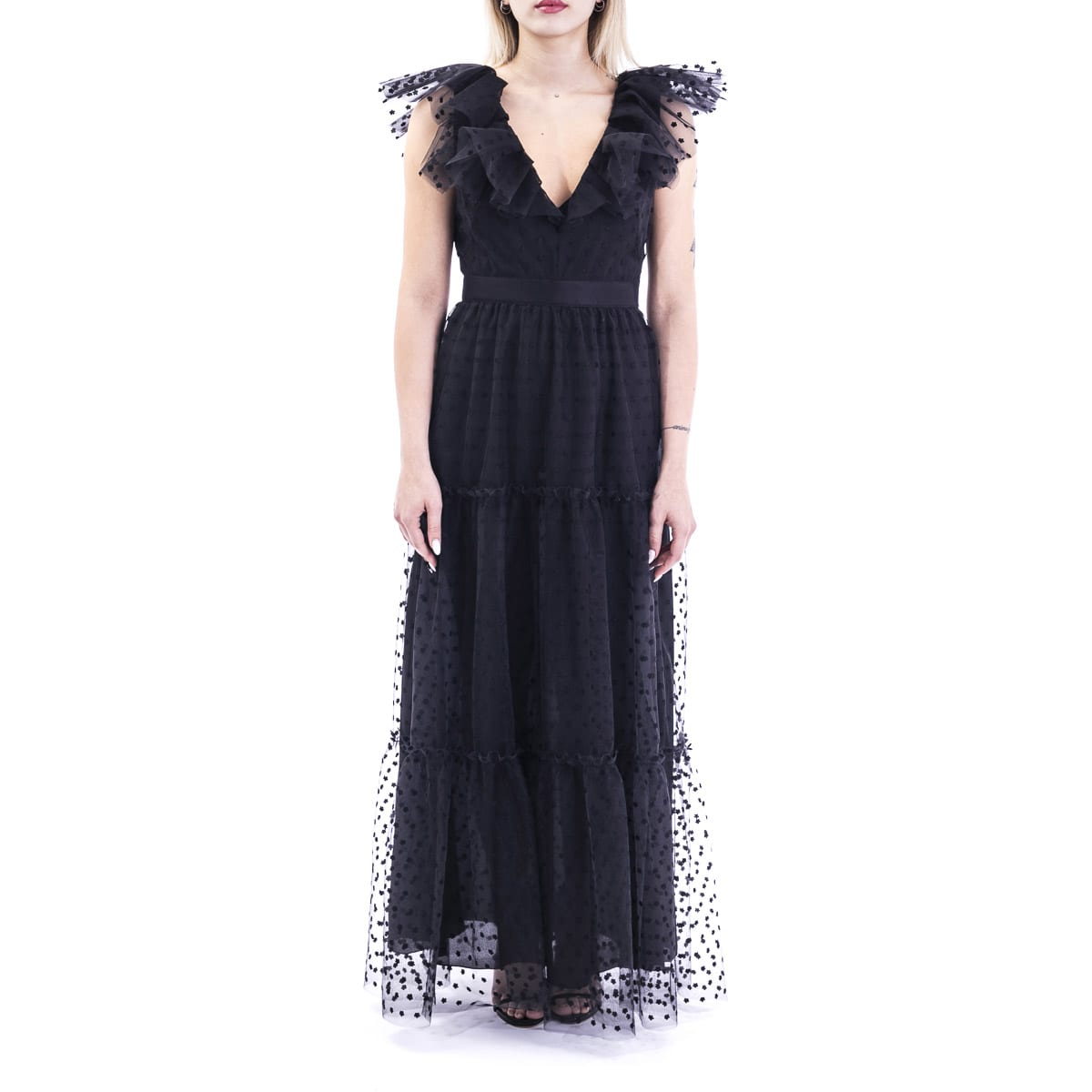 Buy Philosophy Of Lorenzo Serafini Mesh Dress online, shop Philosophy di Lorenzo Serafini with free shipping