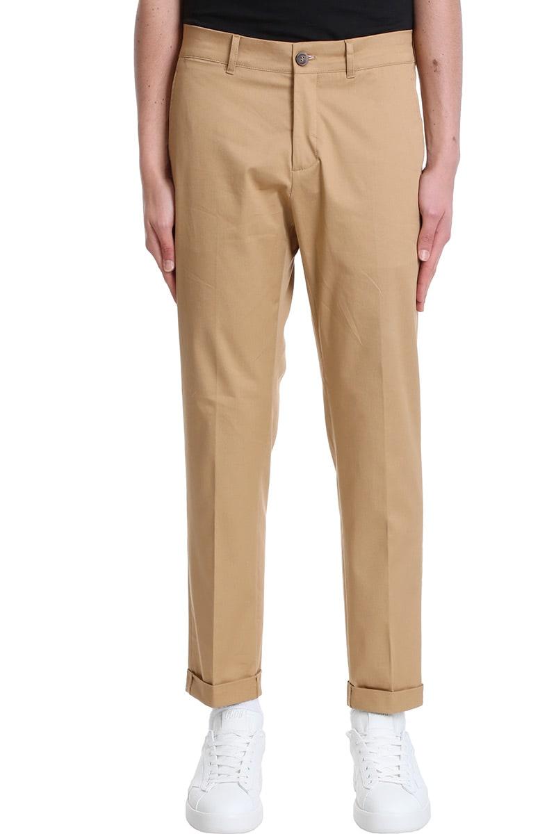 Golden Goose Cottons CONRAD PANTS IN BEIGE COTTON