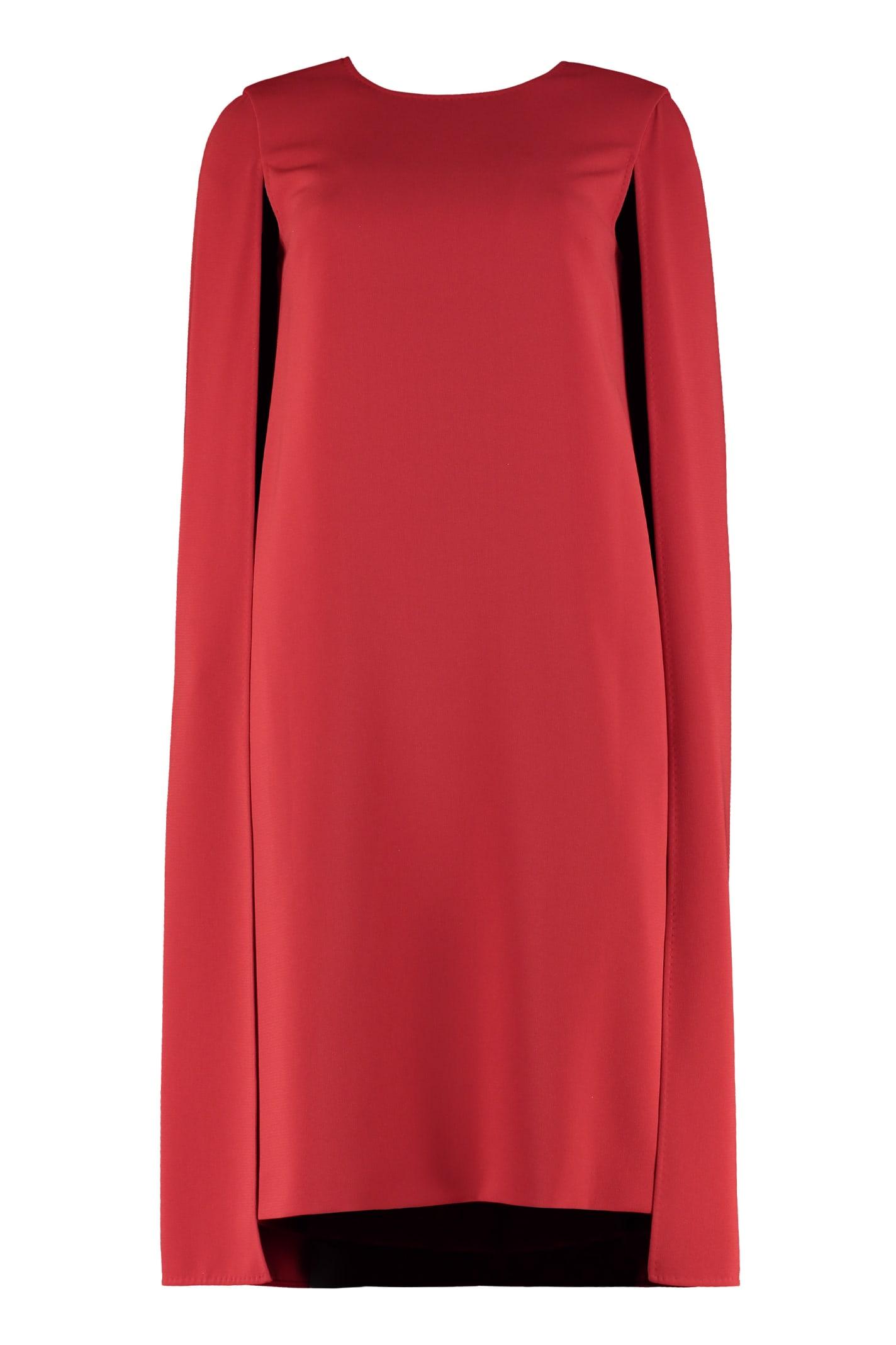 Max Mara Sansone Cape-style Dress