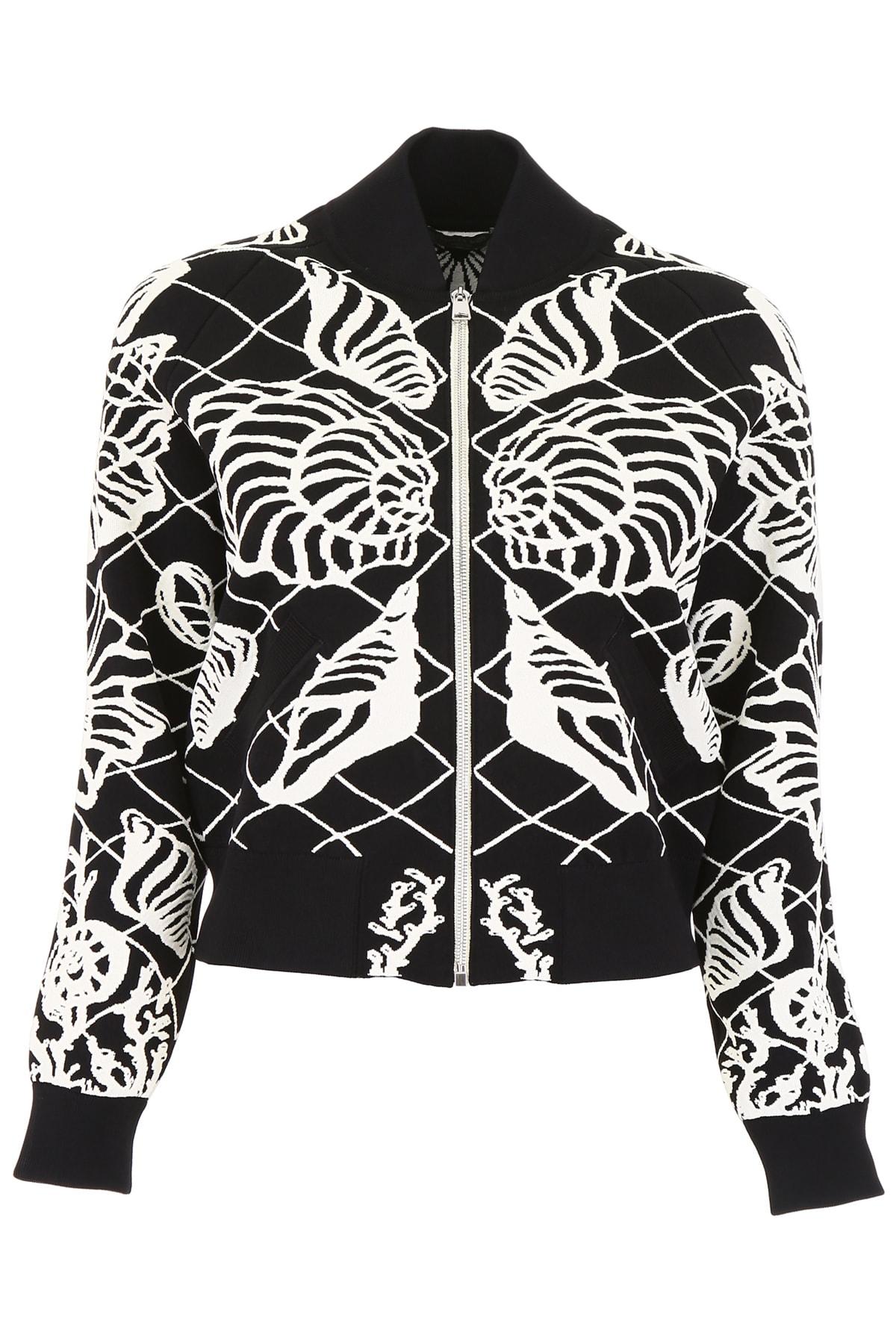 Alexander McQueen Knit Bomber Jacket