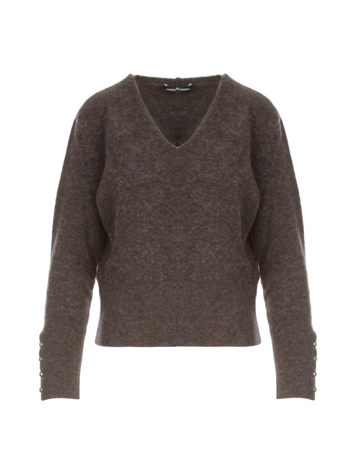 V Neck L/s Sweater