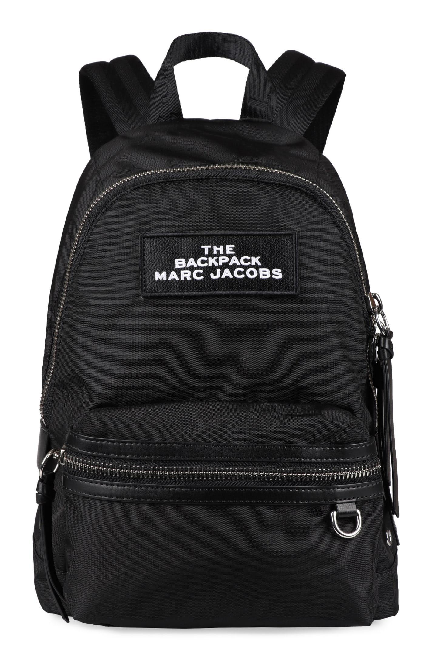 Marc Jacobs Logo Detail Nylon Backpack