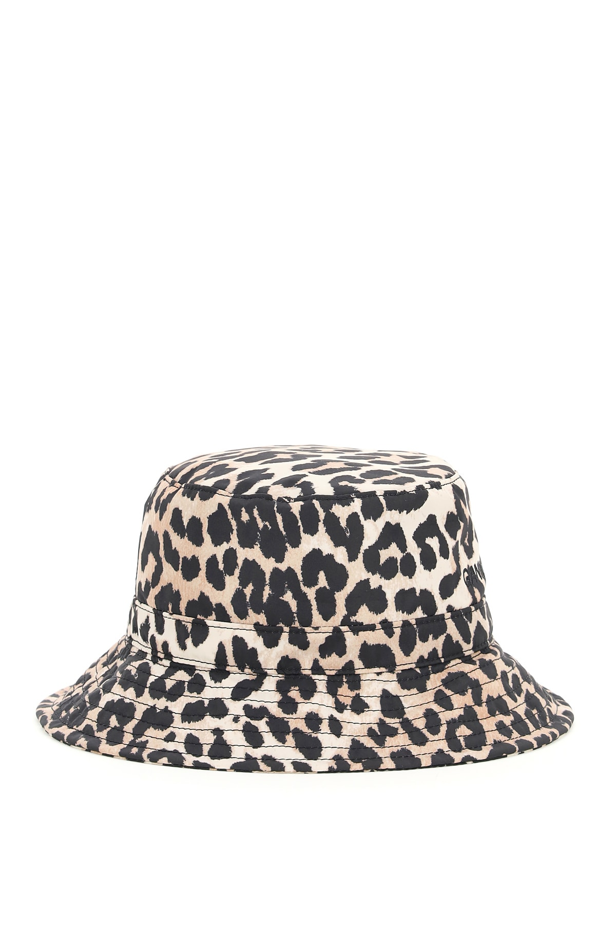 Ganni Hats ANIMALIER BUCKET HAT