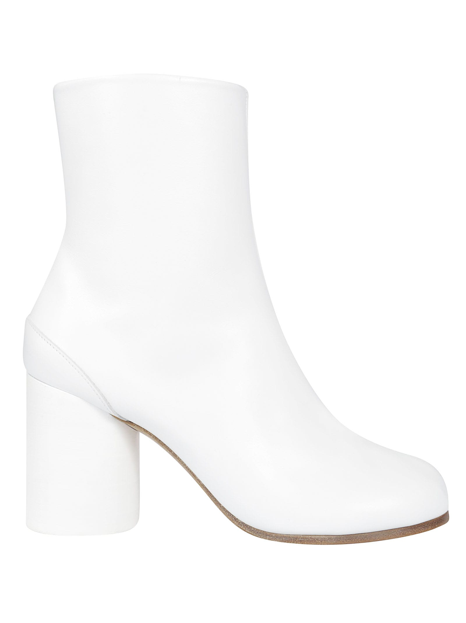 100% top quality great look new images of Maison Margiela Maison Margiela Tabi Ankle Boots - White ...