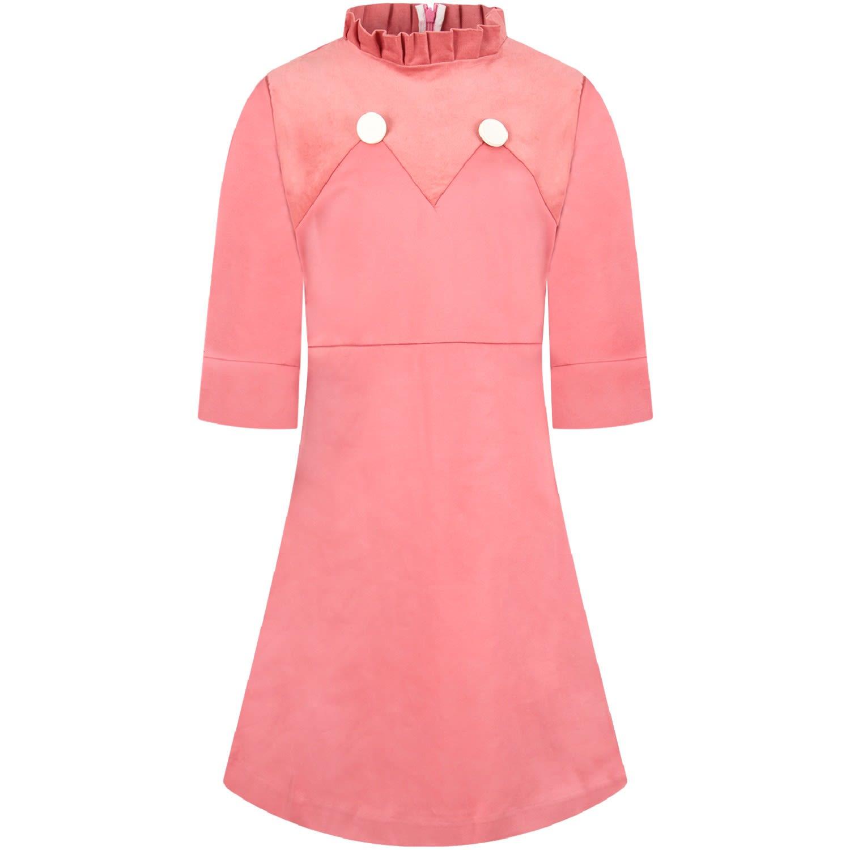 Owa Yurika Pink lily Girl Dress