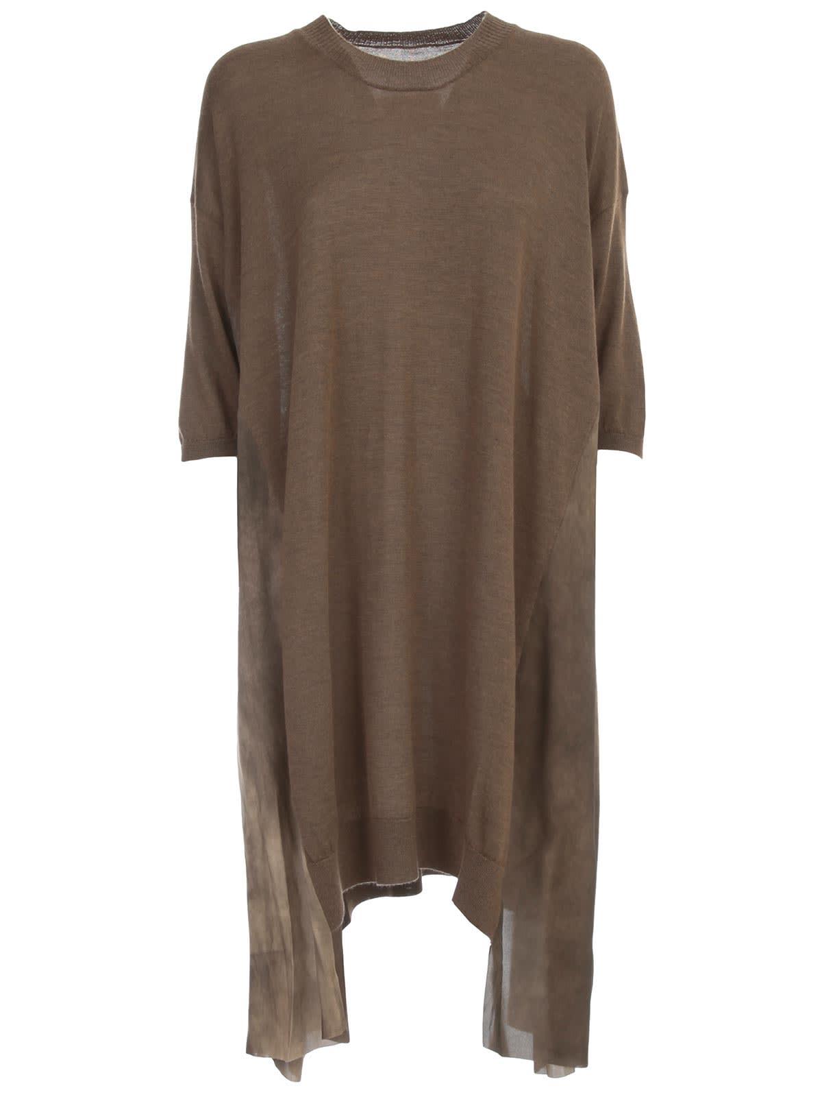 Buy Uma Wang Shirt Sleeve Knit Dress Over online, shop Uma Wang with free shipping