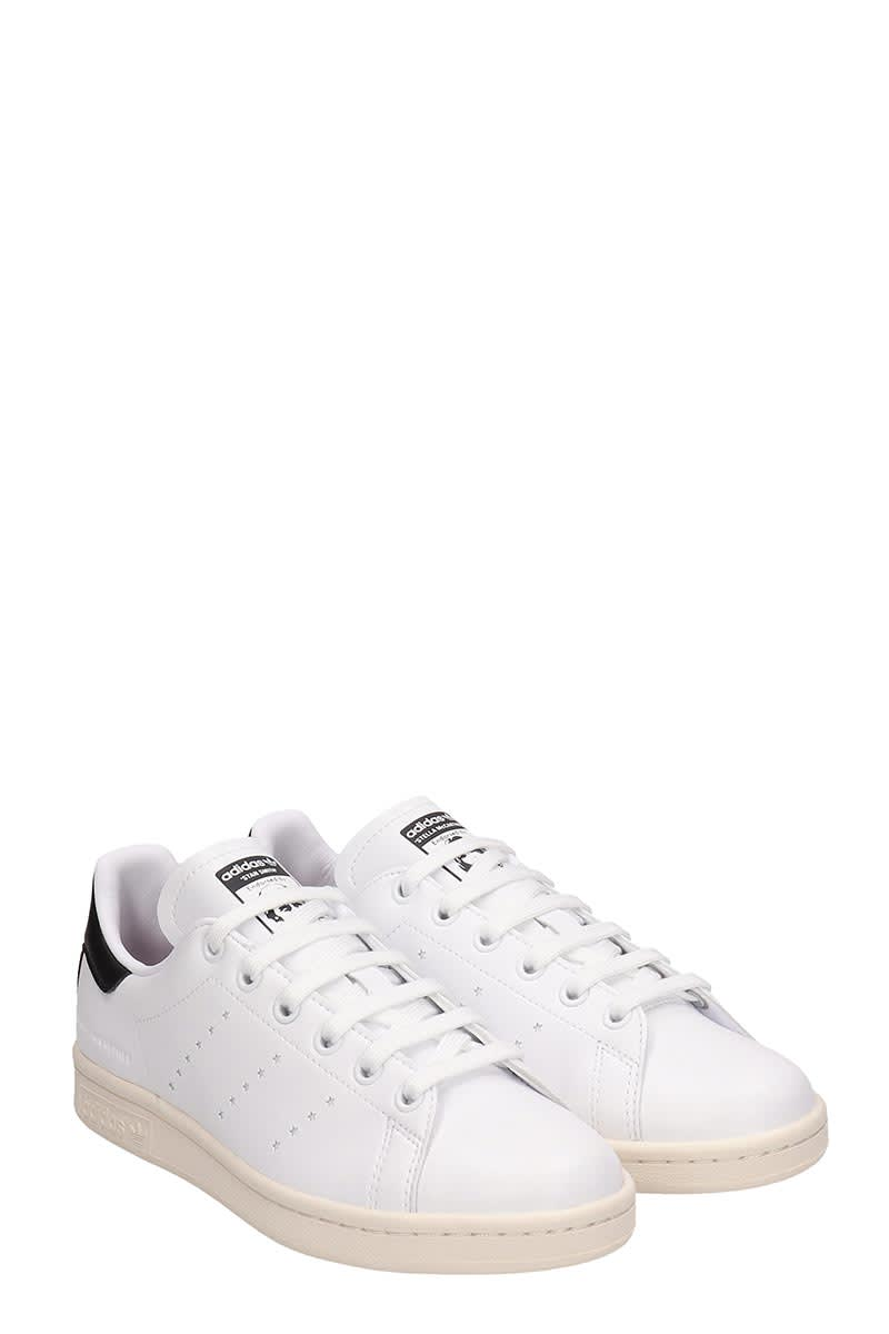 newest collection 560b5 2b774 Adidas by Stella McCartney White Leather Stan Smith Sneakers Stella  Mccartney Collaboration