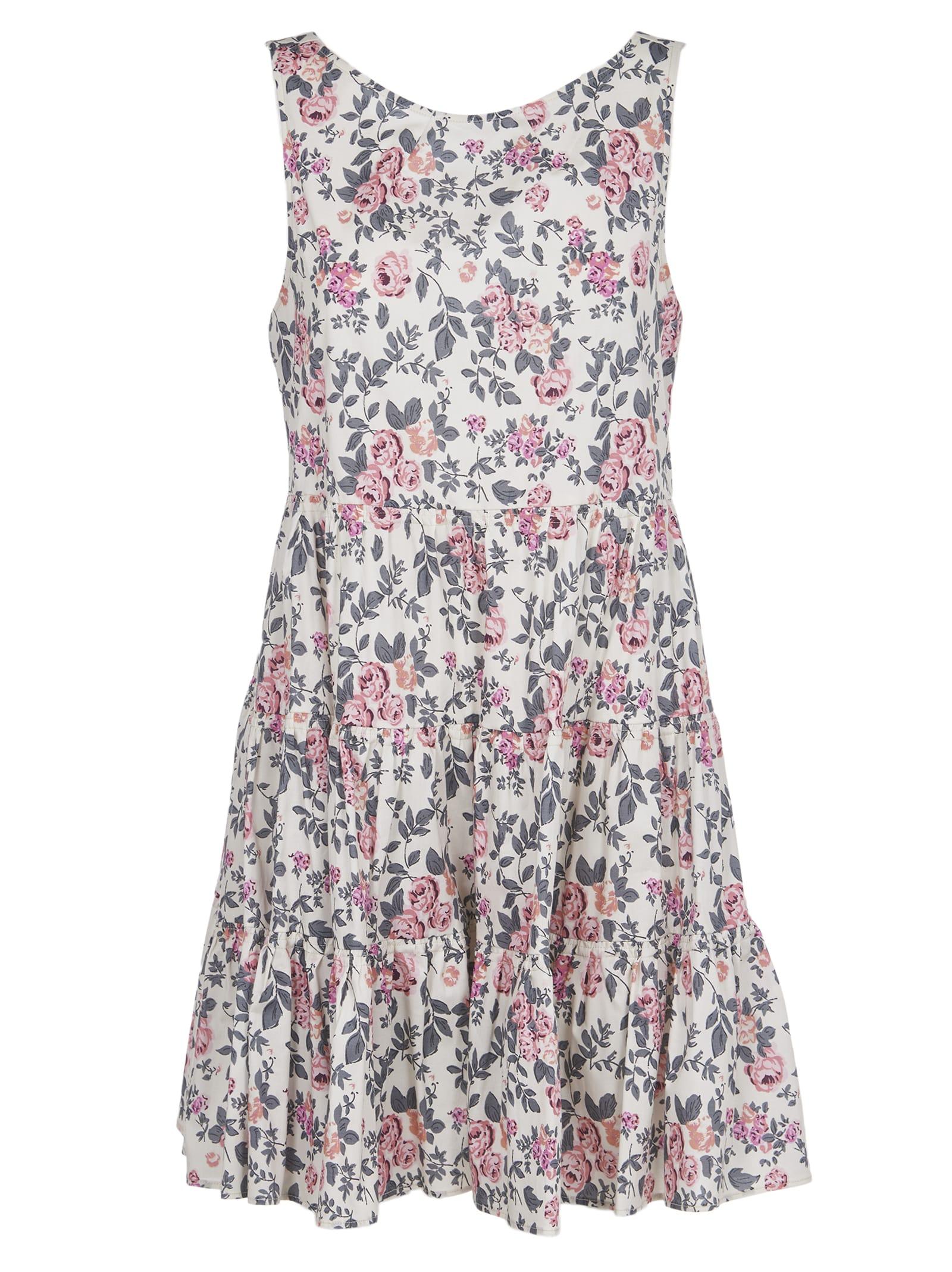 Semicouture Dresses FLORAL MINI DRESS