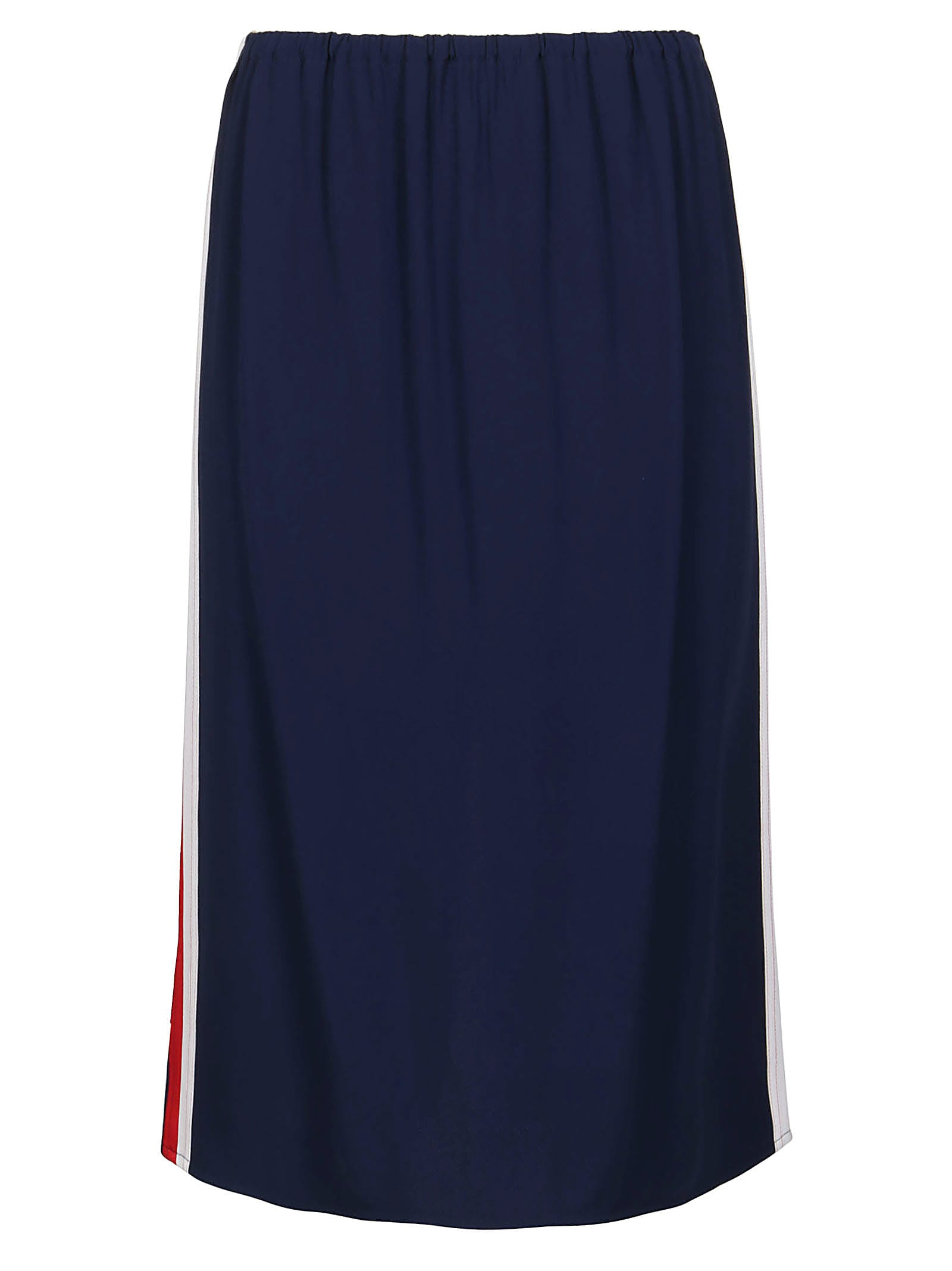 Marni BLUE VISCOSE BLEND SKIRT