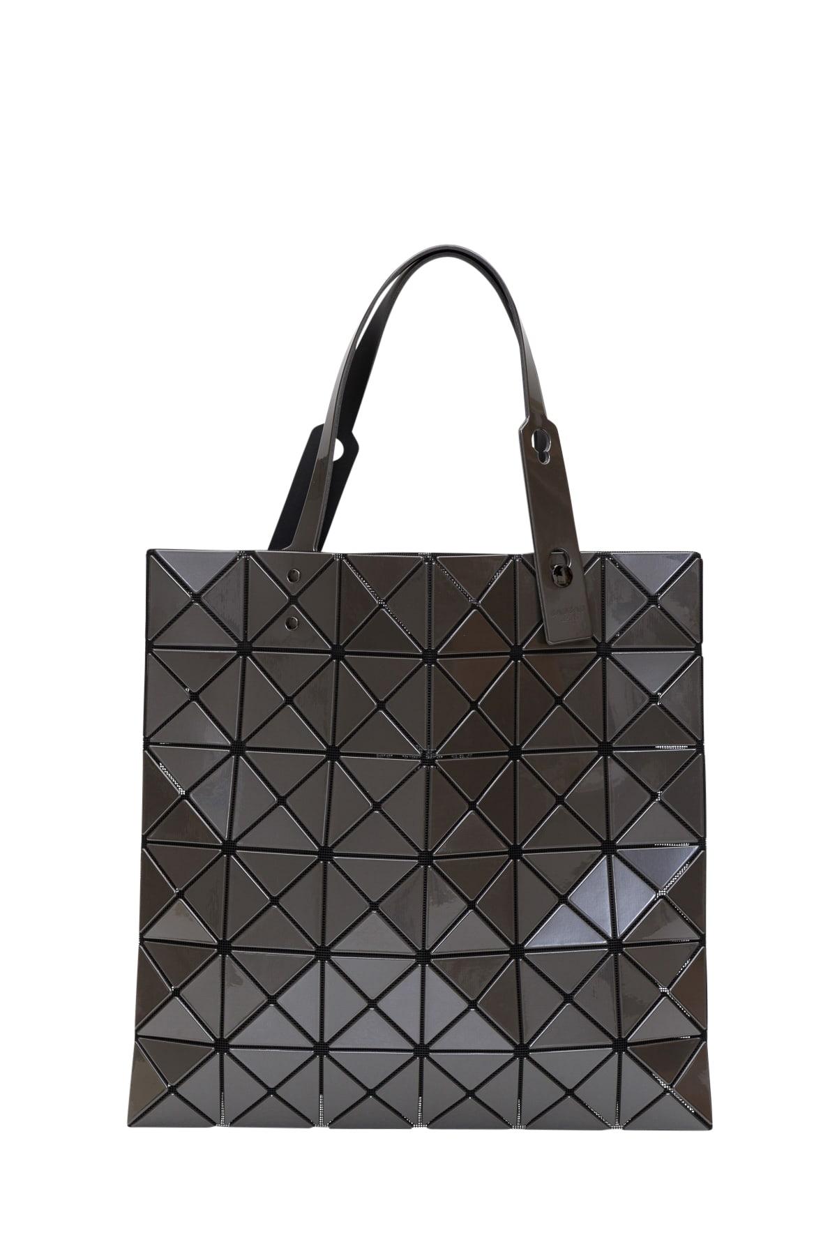High Quality BAO BAO Issey Miyake Metallic BLACK TOTE Bag  NEW
