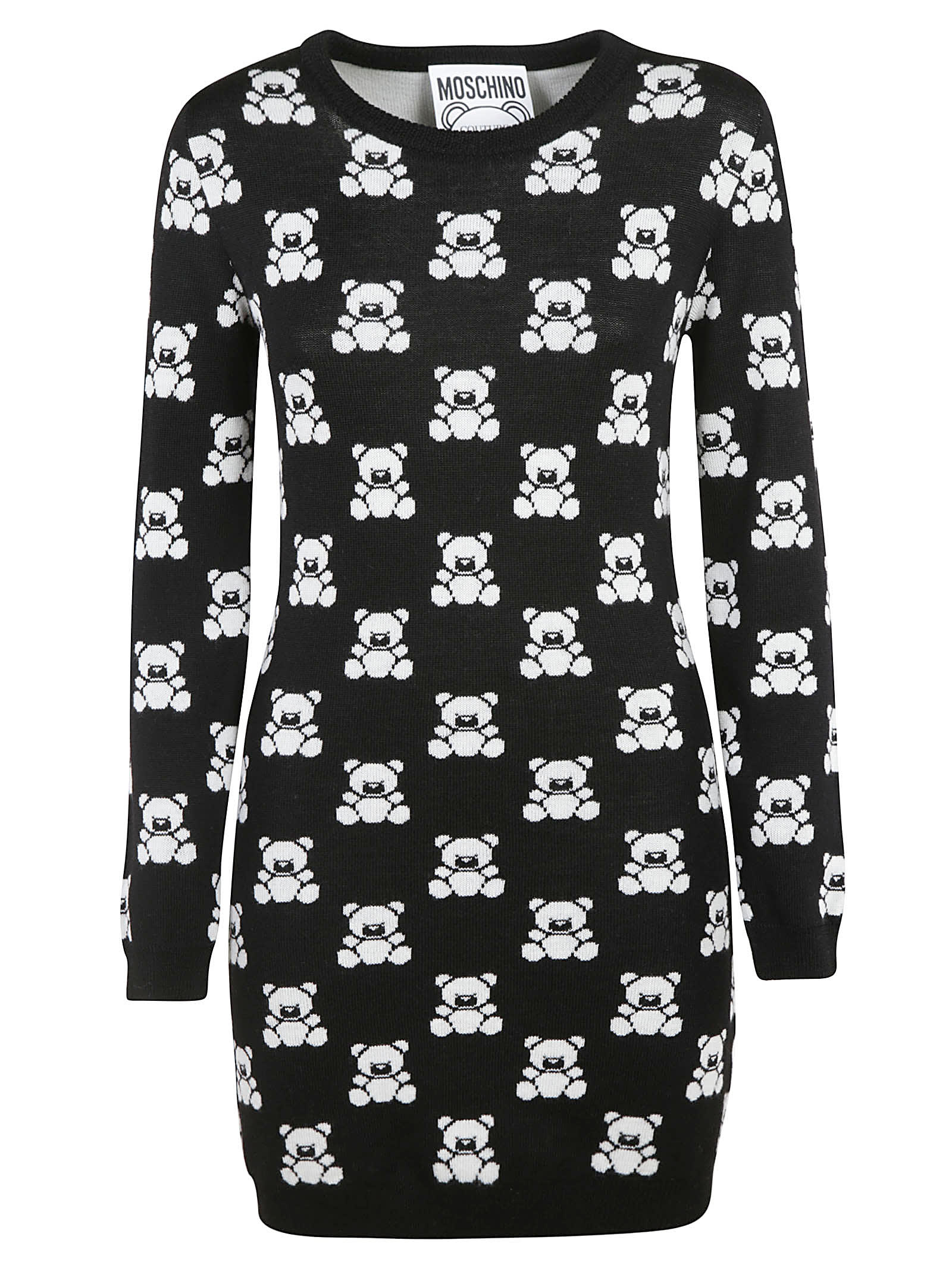 Moschino Teddy Bear Intarsia Dress
