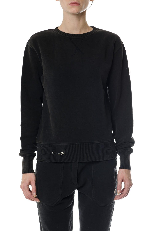 Colmar Cotton Sweatshirt Ribbed Piping